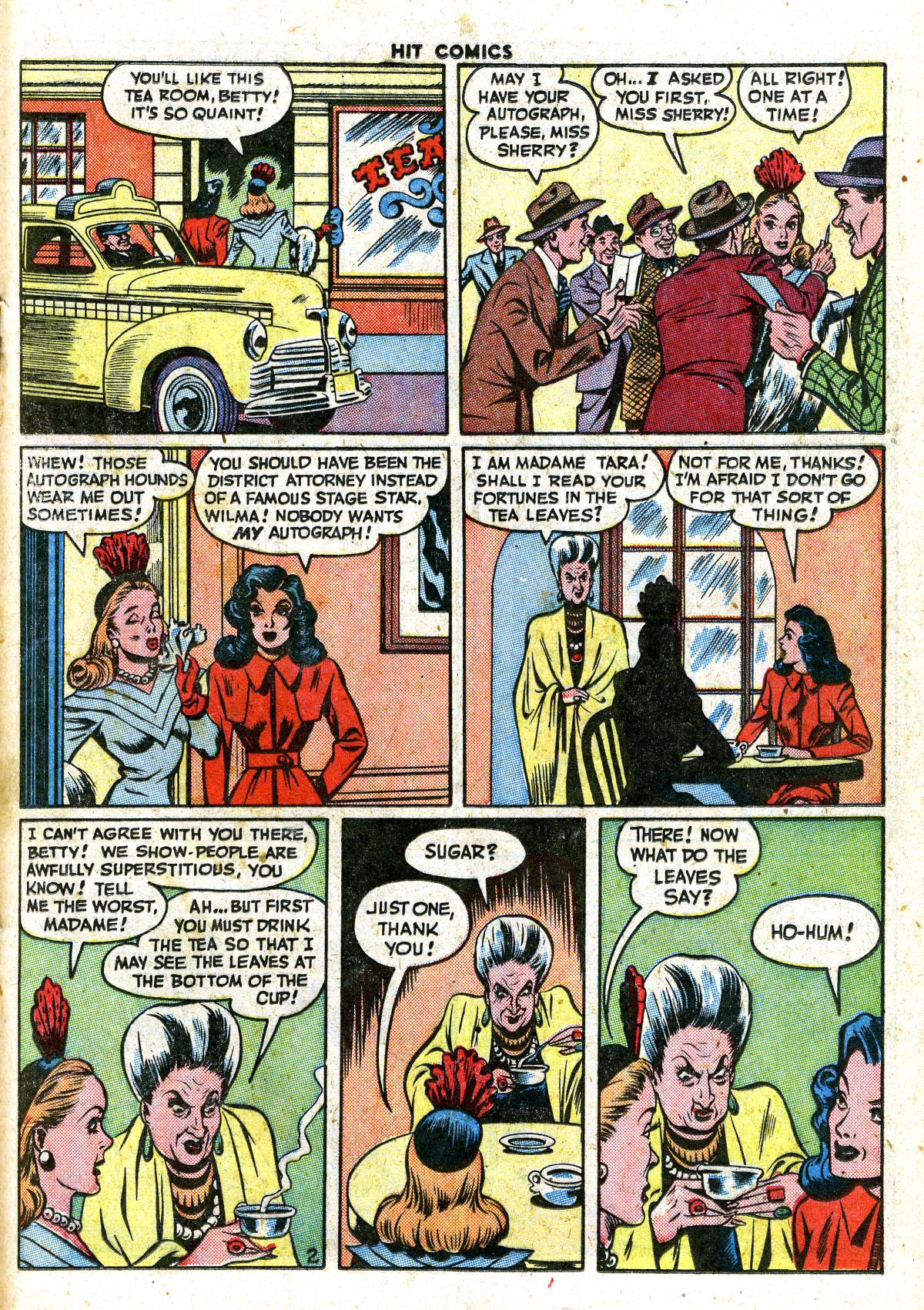 Read online Hit Comics comic -  Issue #41 - 31