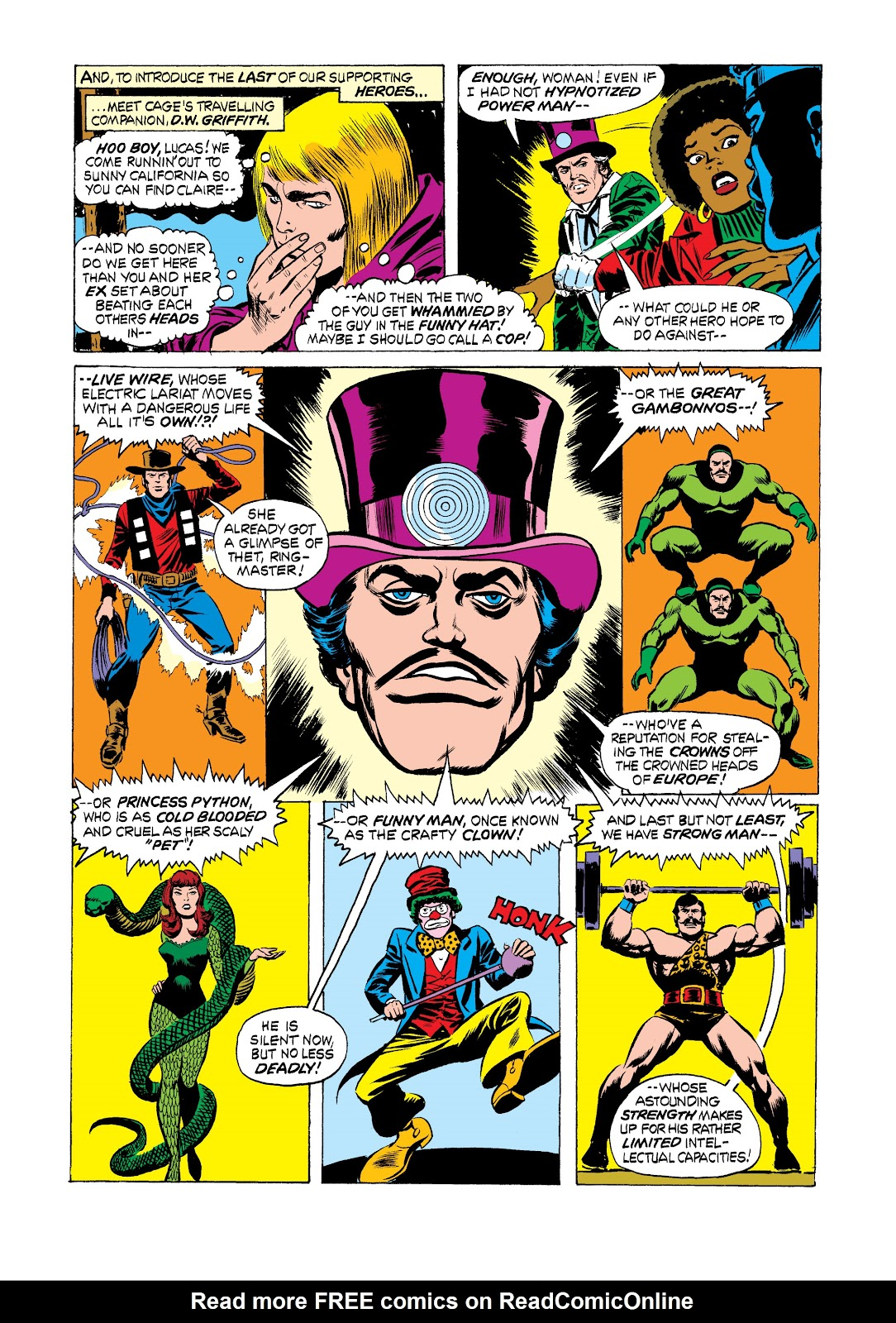 Read online Marvel Masterworks: Luke Cage, Power Man comic -  Issue # TPB 2 (Part 2) - 64