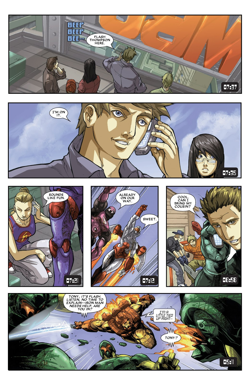 Iron Man: House of M Issue #3 #3 - English 14