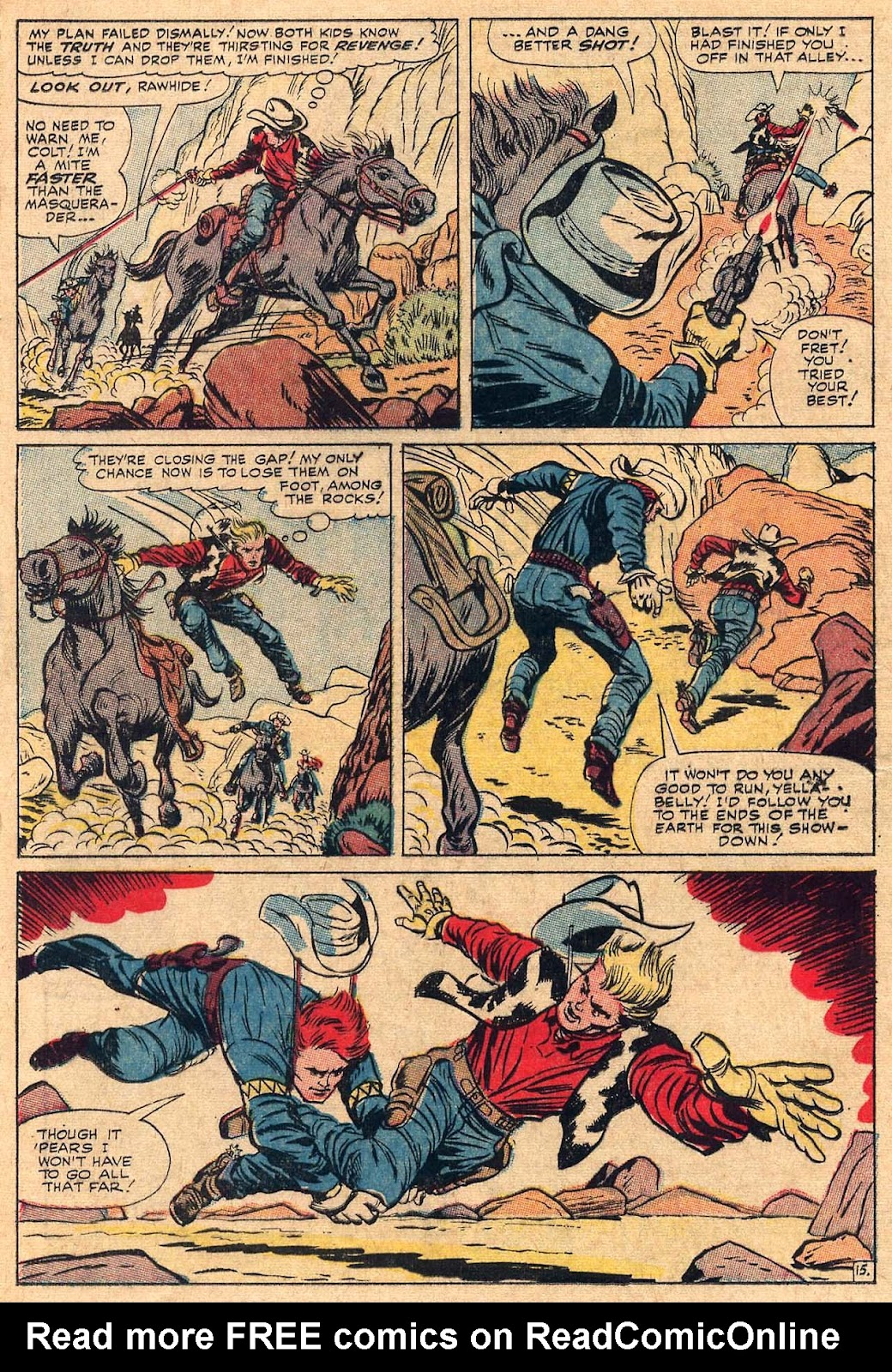 The Rawhide Kid (1955) issue 50 - Page 20