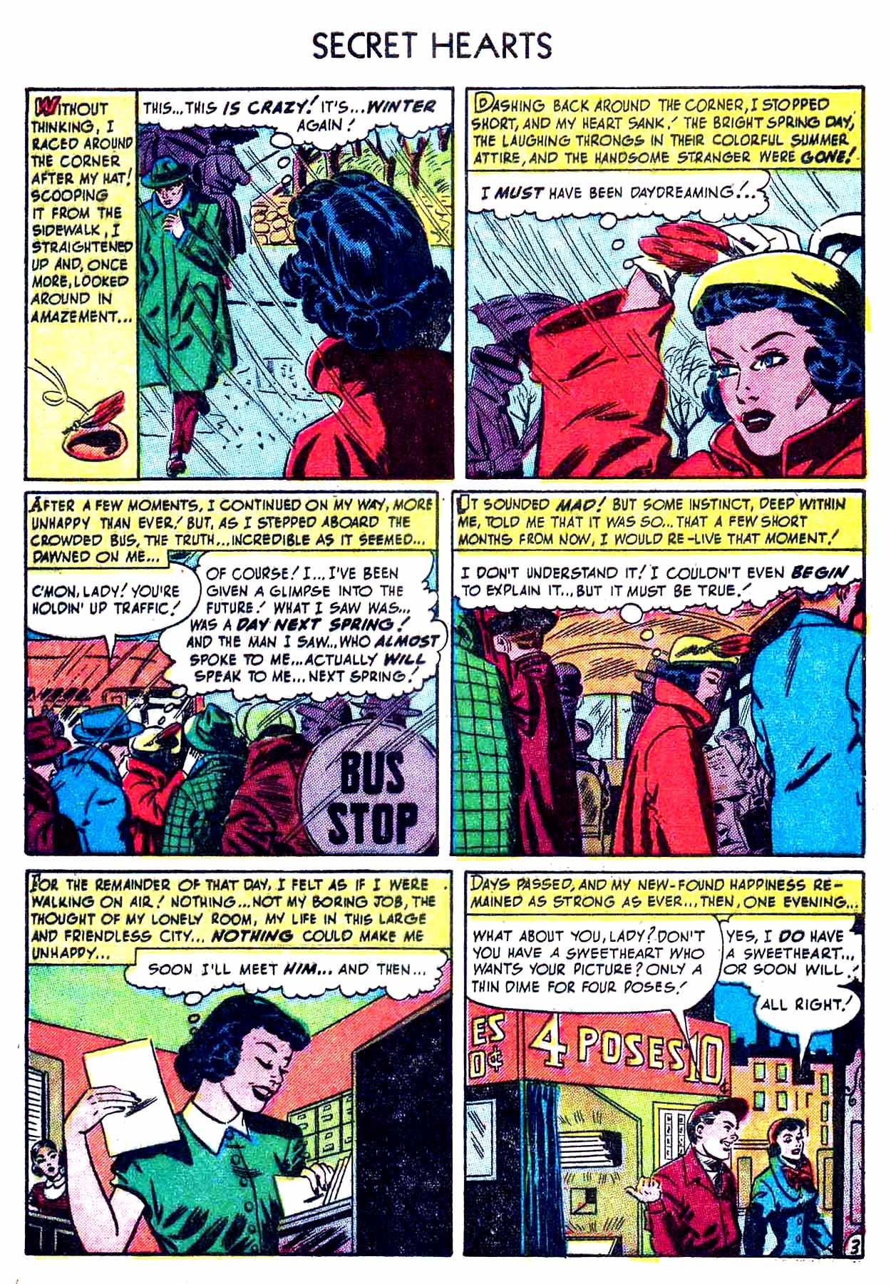 Read online Secret Hearts comic -  Issue #8 - 5