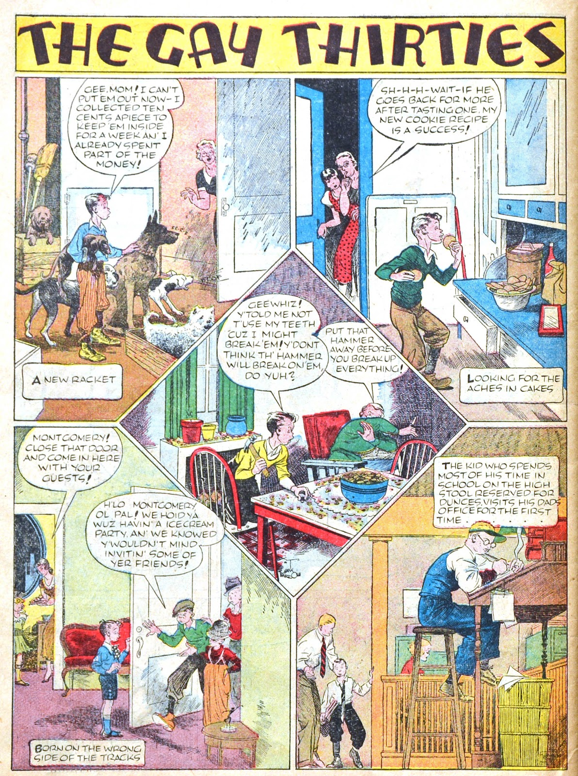 Read online Famous Funnies comic -  Issue #51 - 63
