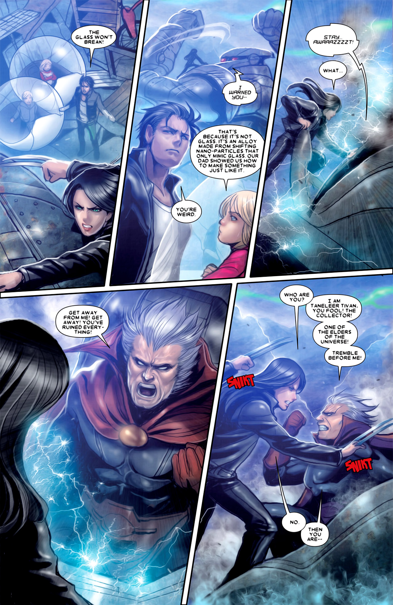 Read online X-23 (2010) comic -  Issue #18 - 19