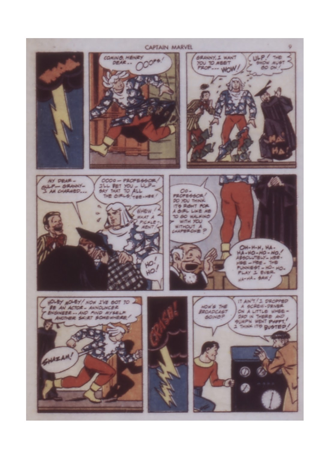 Captain Marvel Adventures issue 14 - Page 9