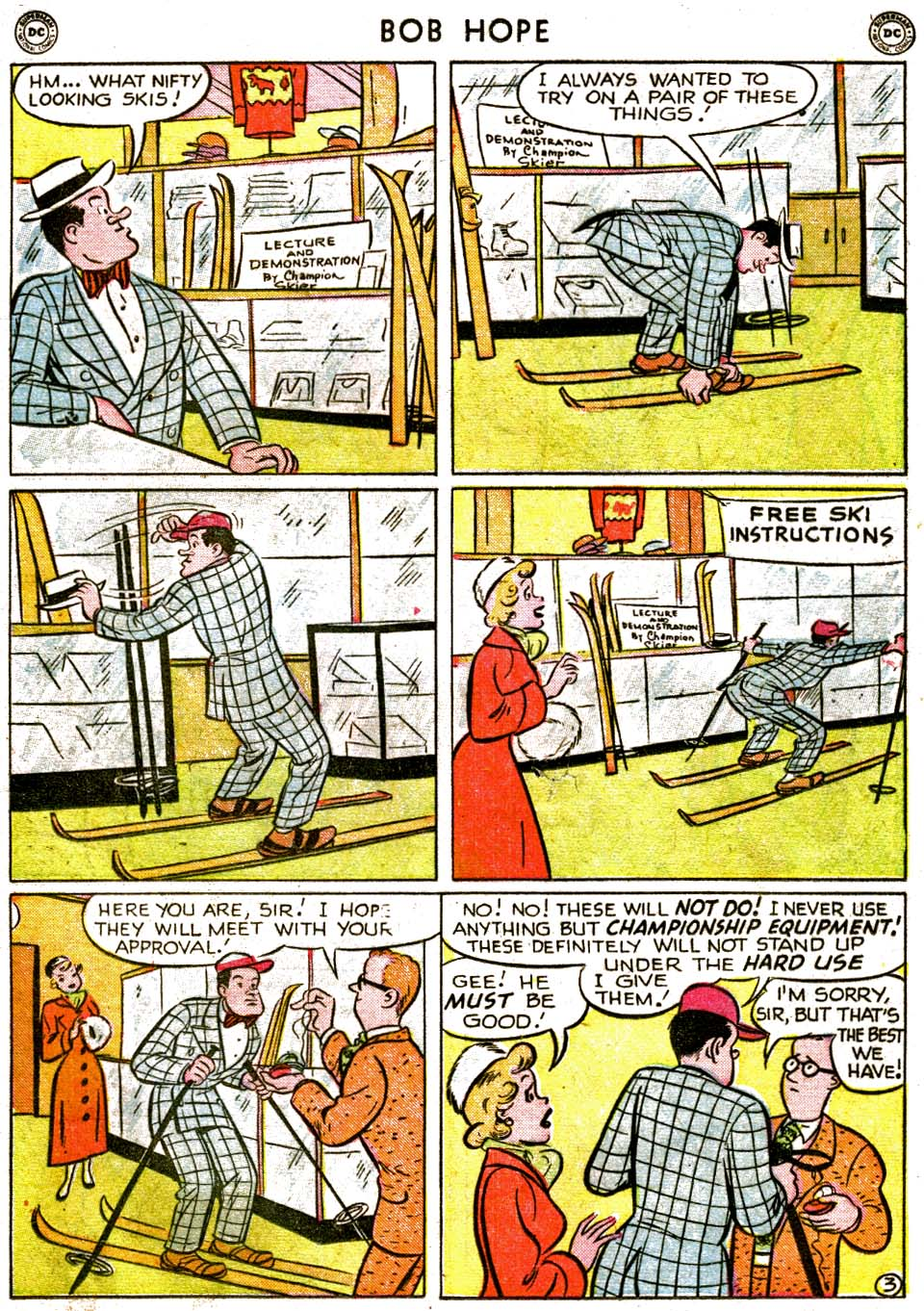 The Adventures of Bob Hope issue 1 - Page 19