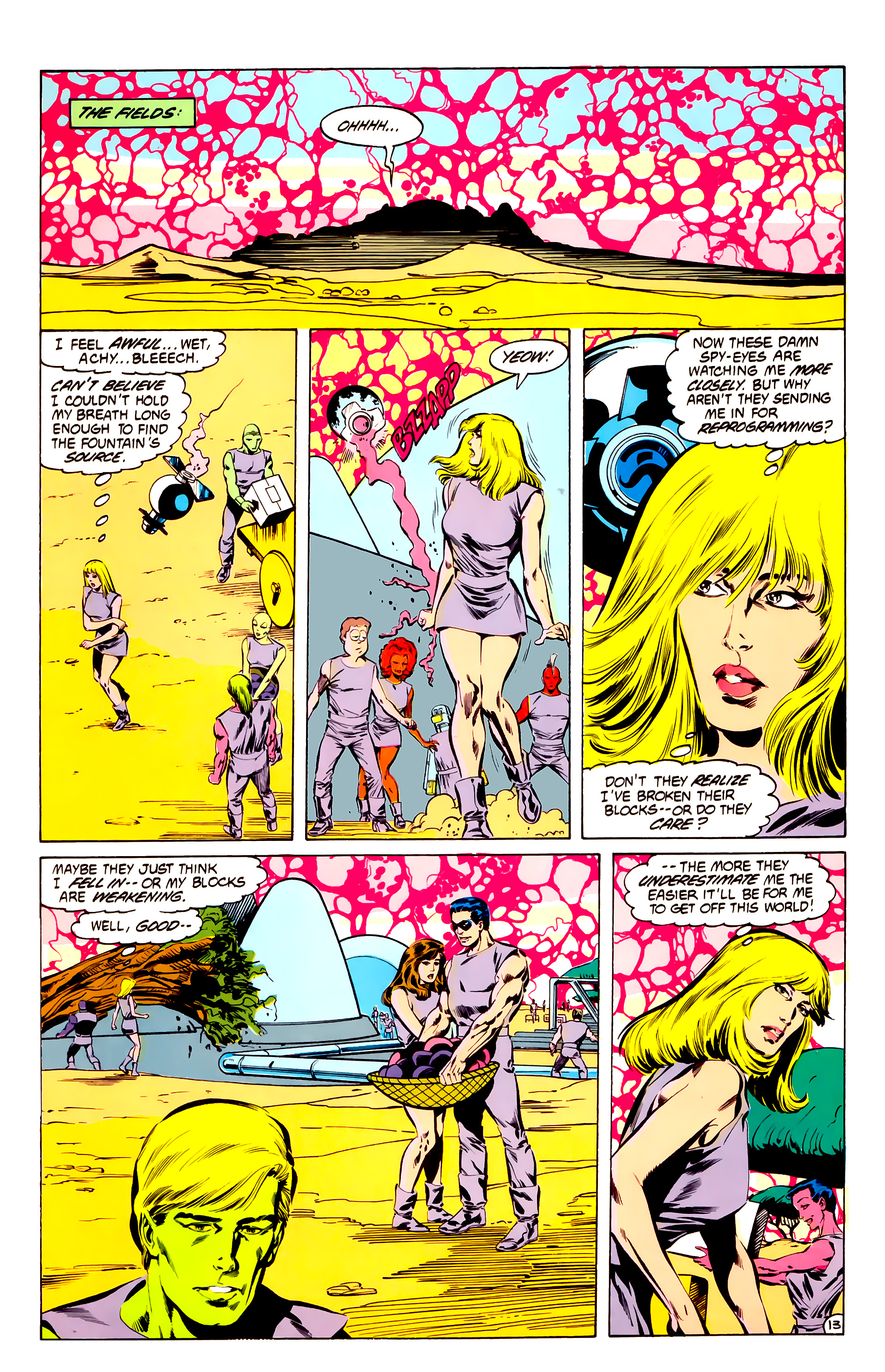 Legion of Super-Heroes (1984) 32 Page 12