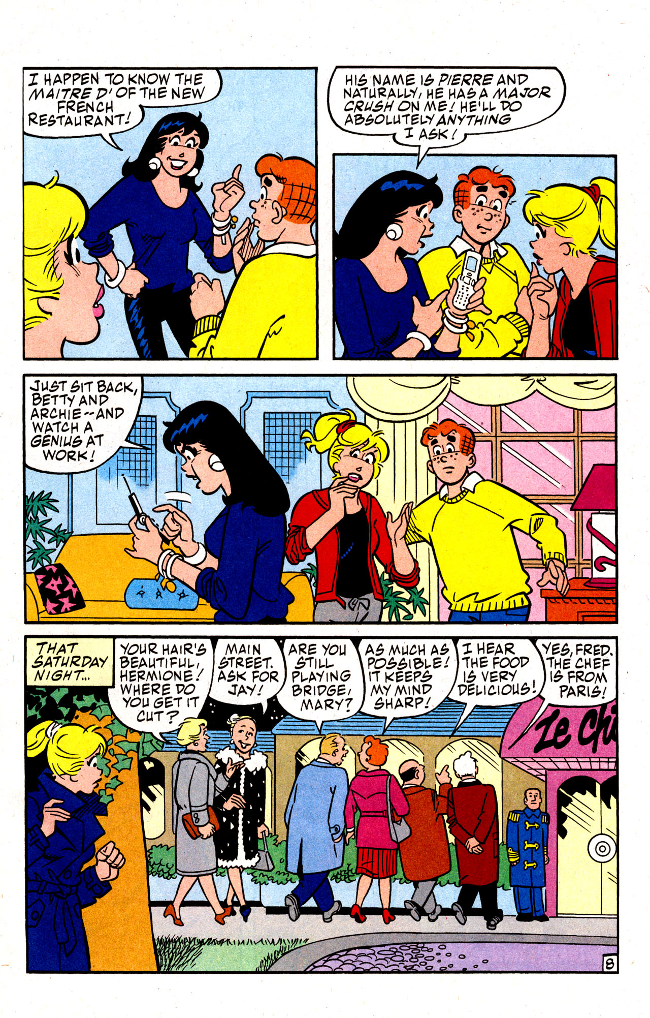 Read online Archie (1960) comic -  Issue #574 - 11