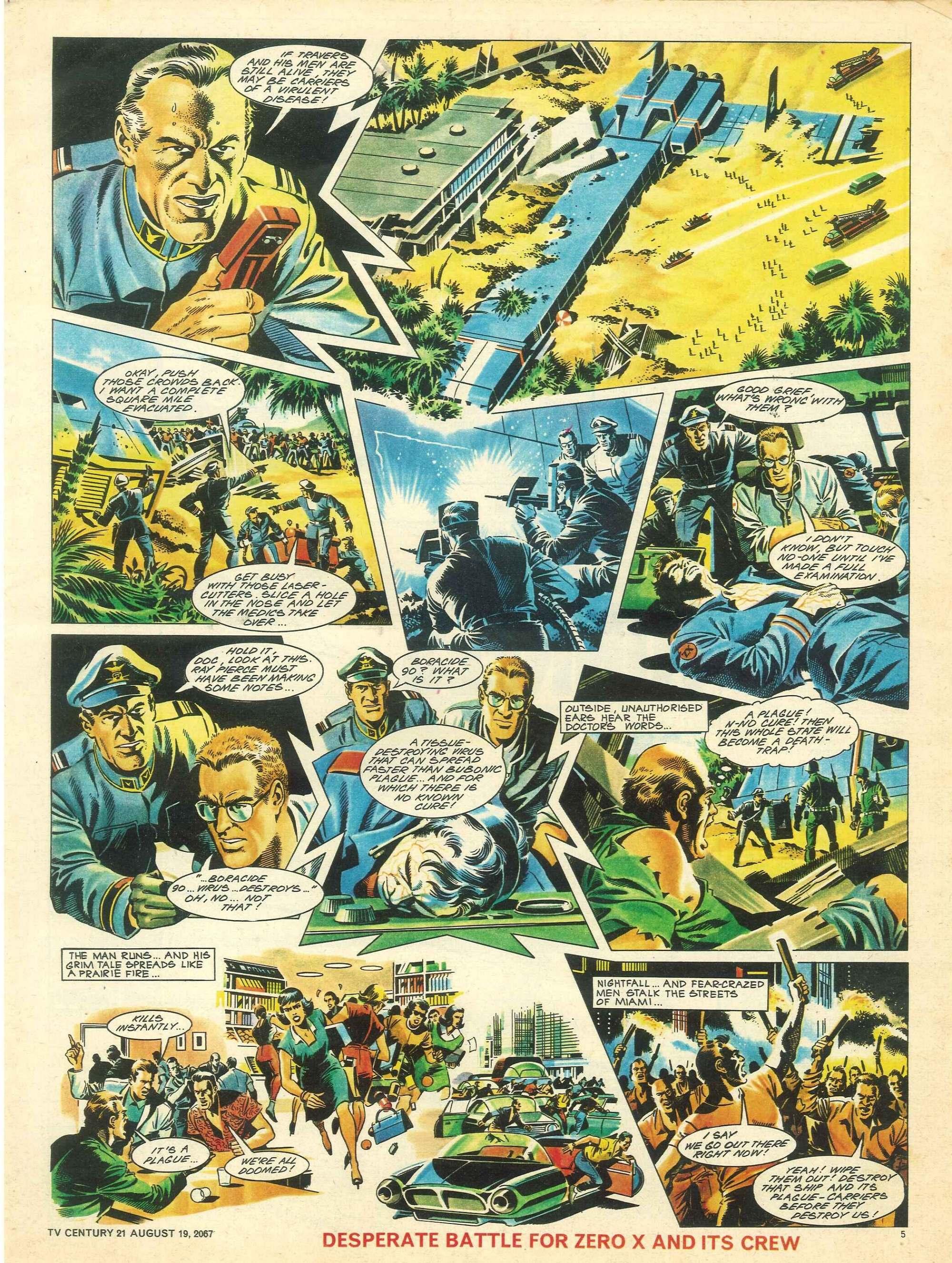 Read online TV Century 21 (TV 21) comic -  Issue #135 - 5
