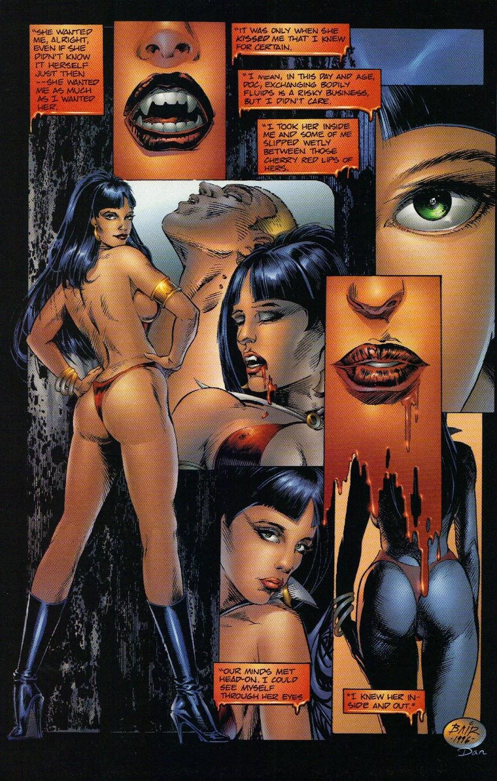 Vampirella vs Hemorrhage issue 1 - Page 11