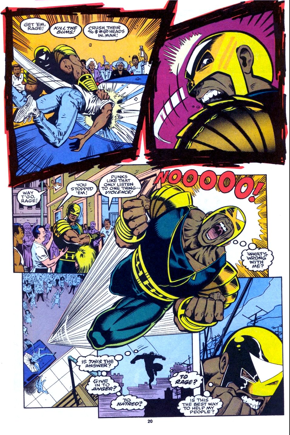 The New Warriors Issue #27 #31 - English 16