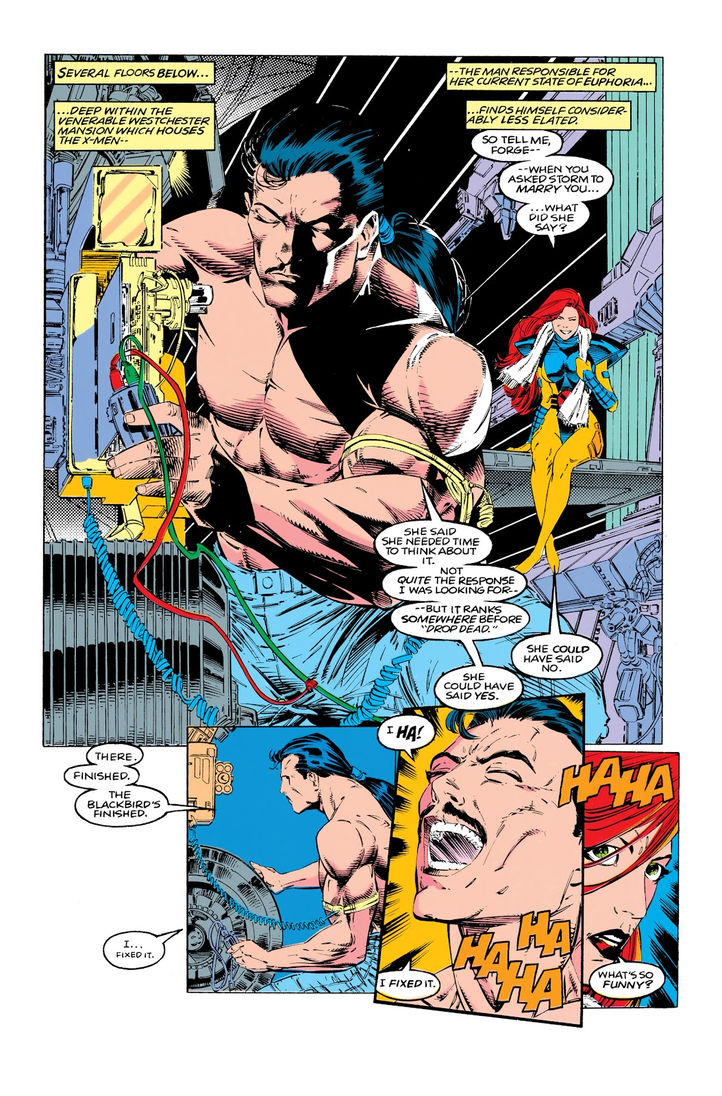 Uncanny X-Men (1963) issue 290 - Page 8