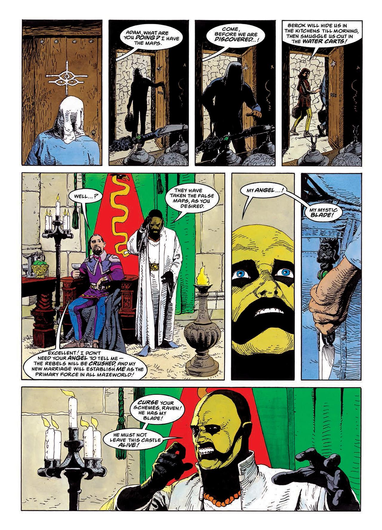 Read online Mazeworld comic -  Issue # TPB - 83