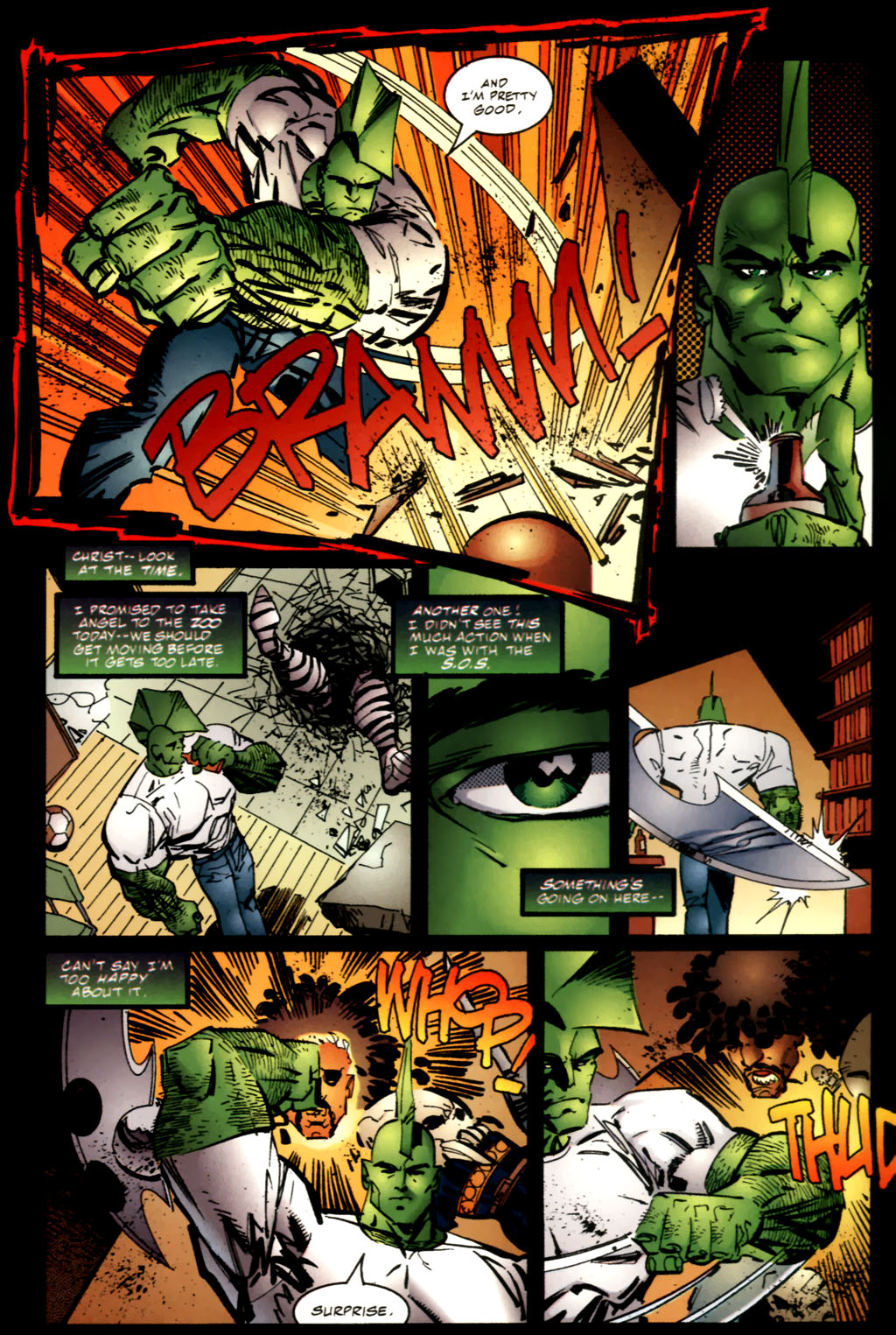 The Savage Dragon (1993) Issue #63 #66 - English 6