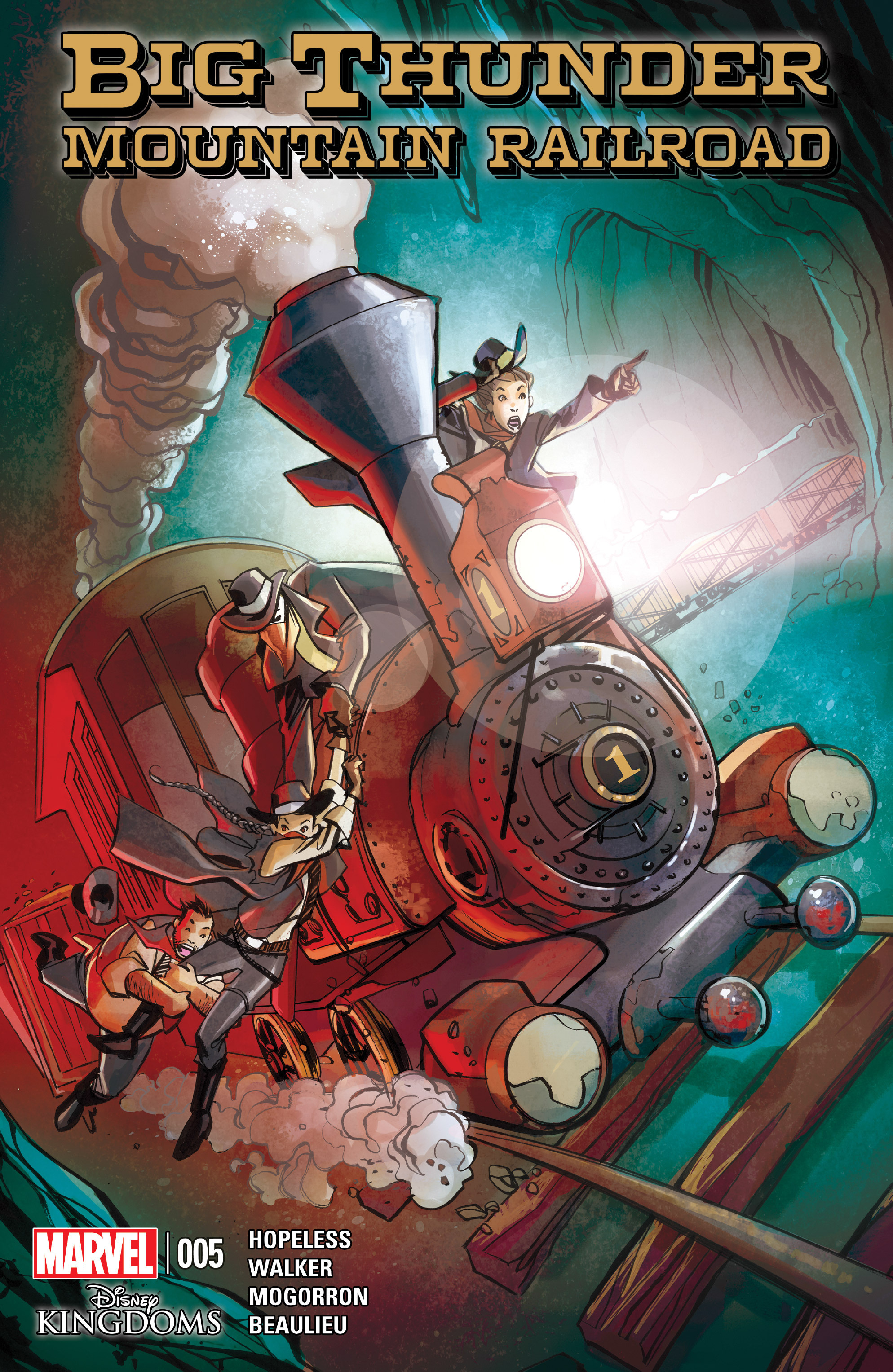 Read online Big Thunder Mountain Railroad comic -  Issue #5 - 1