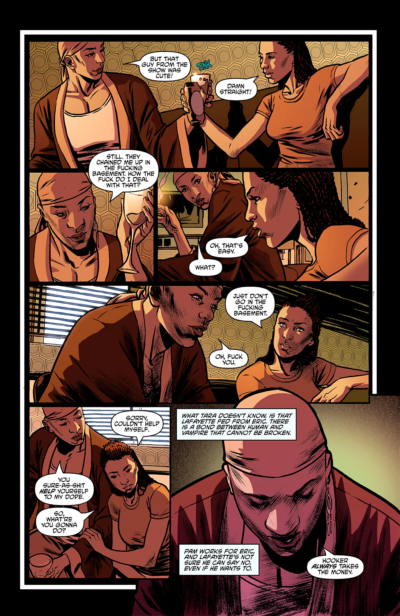 Read online True Blood: French Quarter comic -  Issue #2 - 11