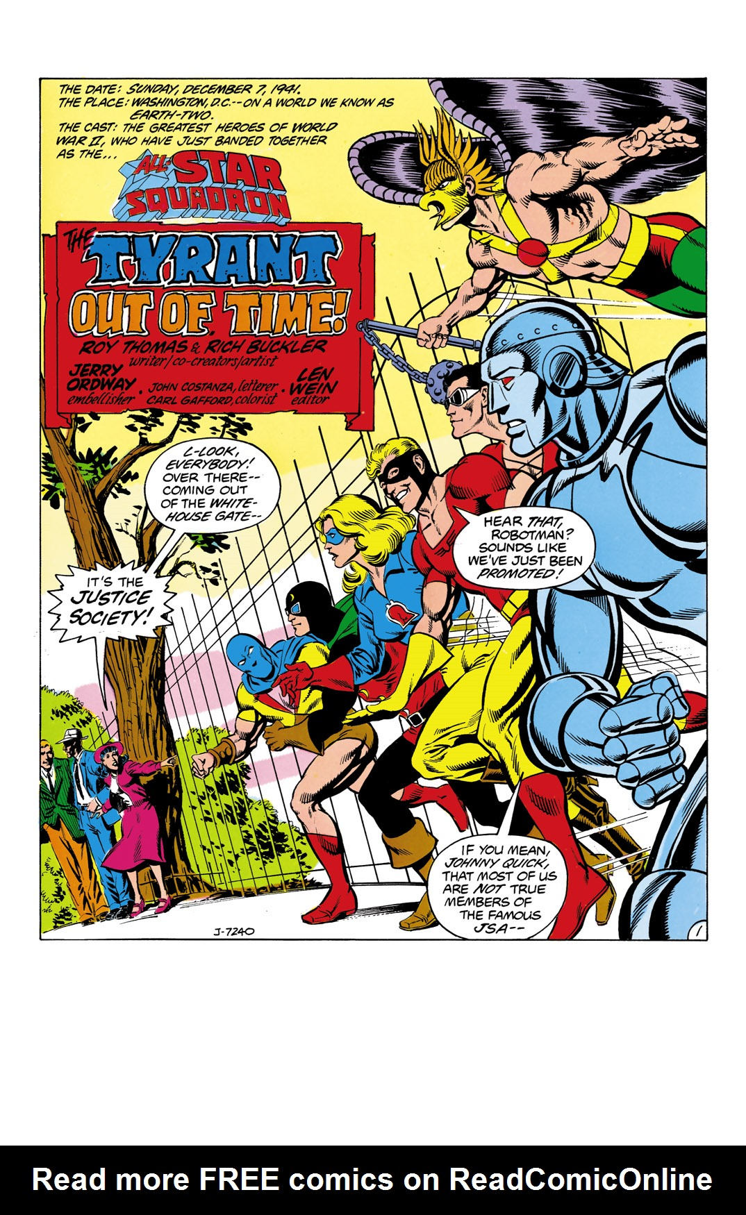 Read online All-Star Squadron comic -  Issue #2 - 2