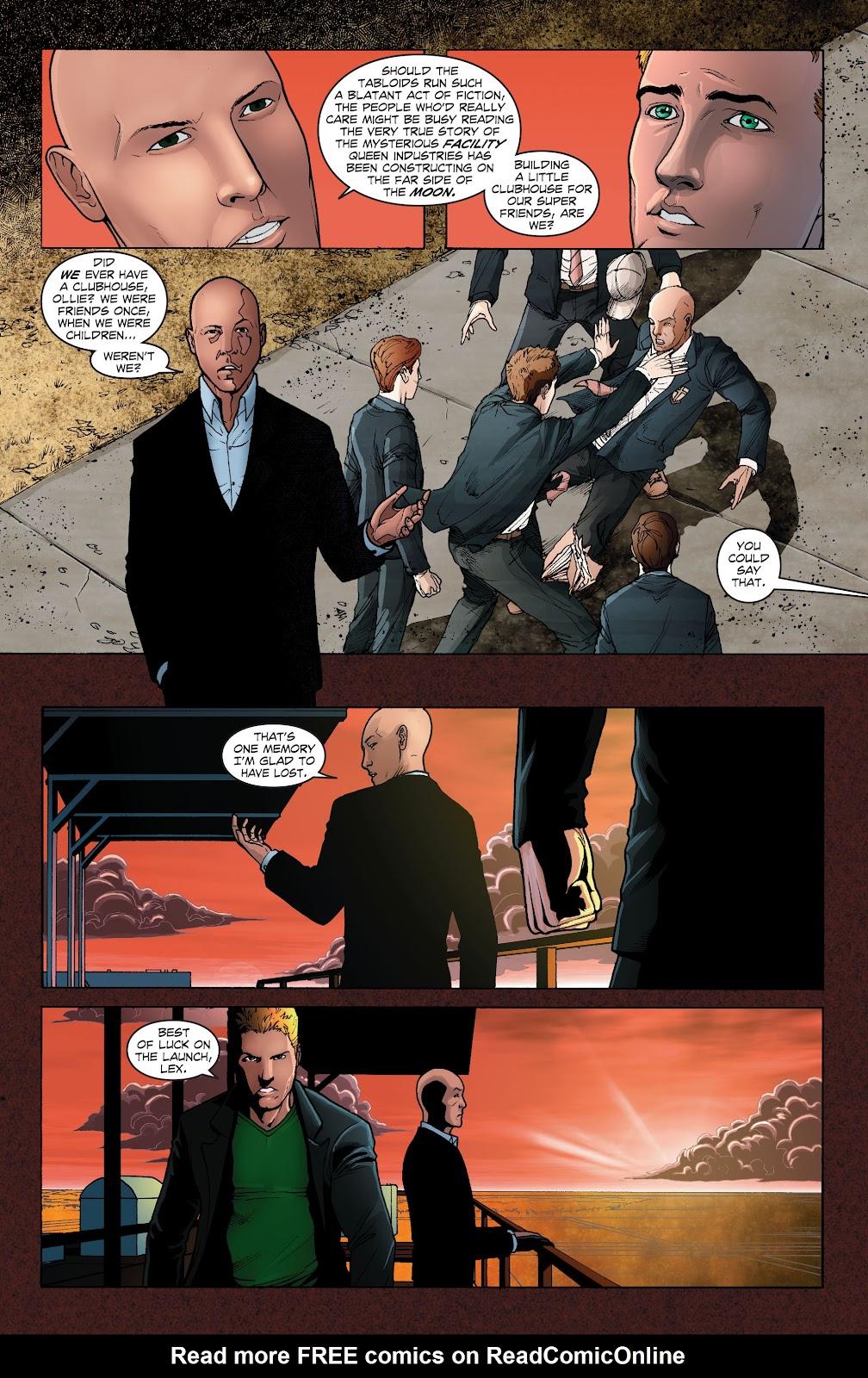 Read online Smallville Season 11 [II] comic -  Issue # TPB 1 - 51