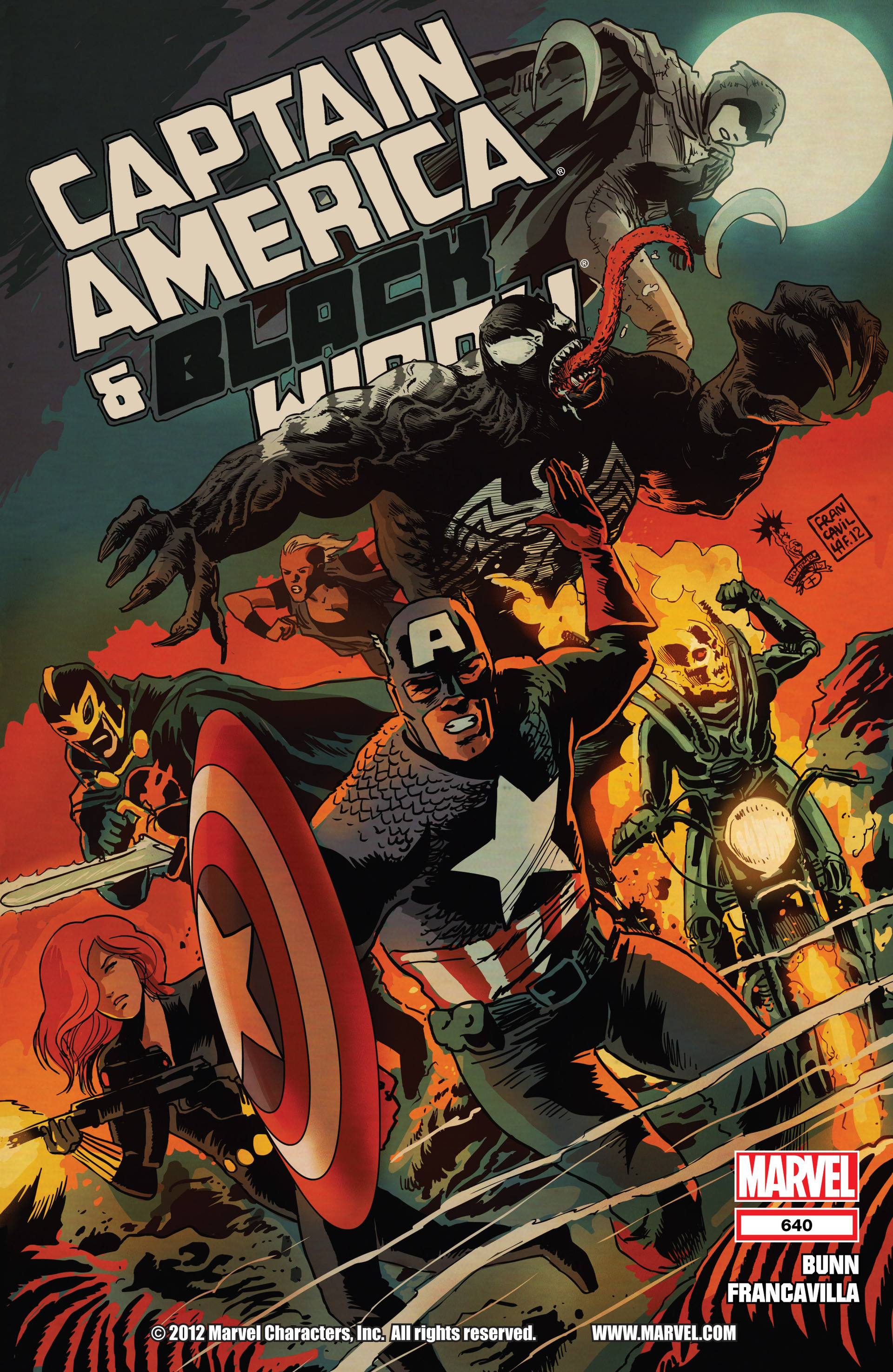 Read online Captain America And Black Widow comic -  Issue #640 - 1