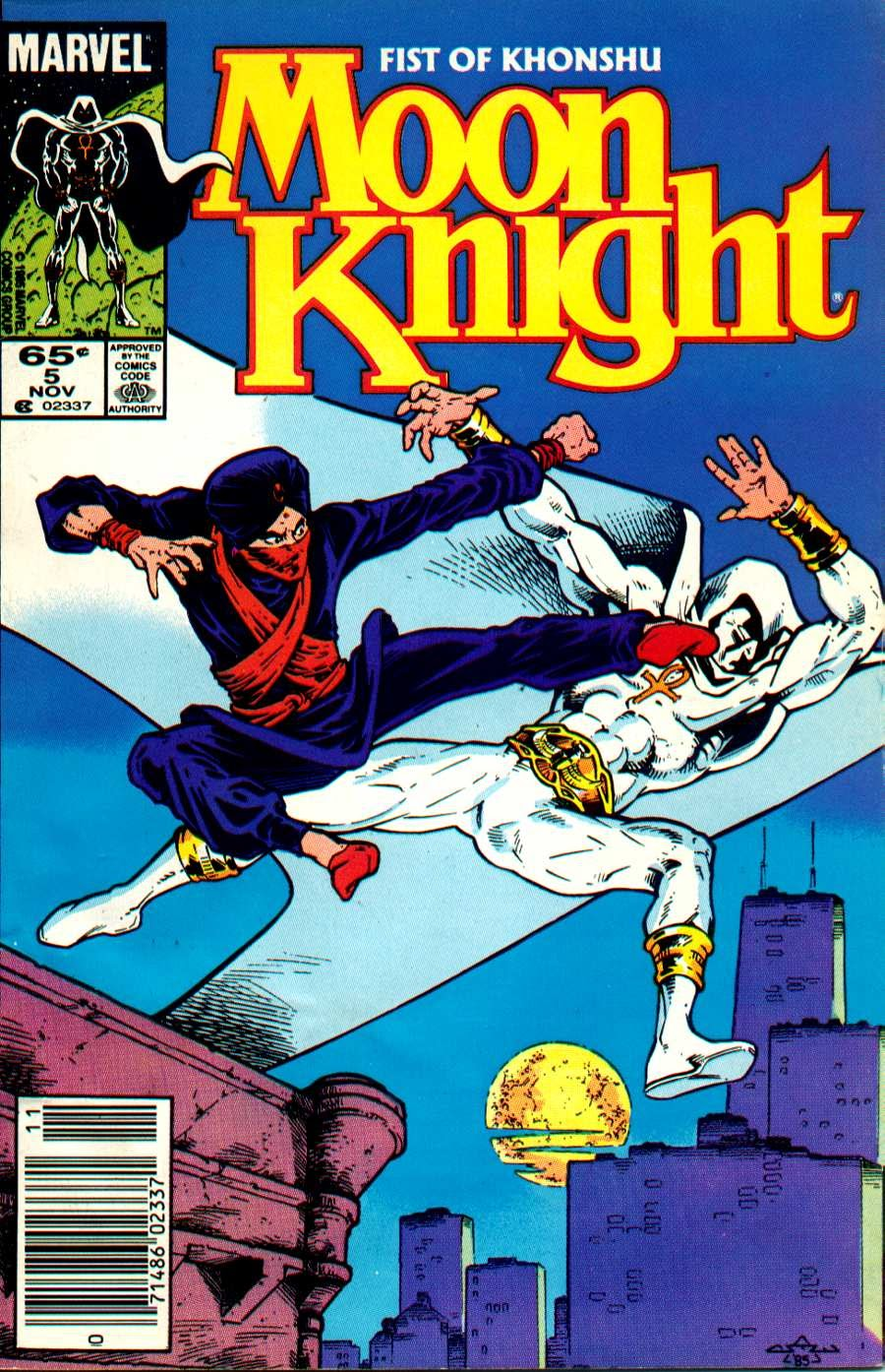 Moon Knight (1985) 5 Page 1