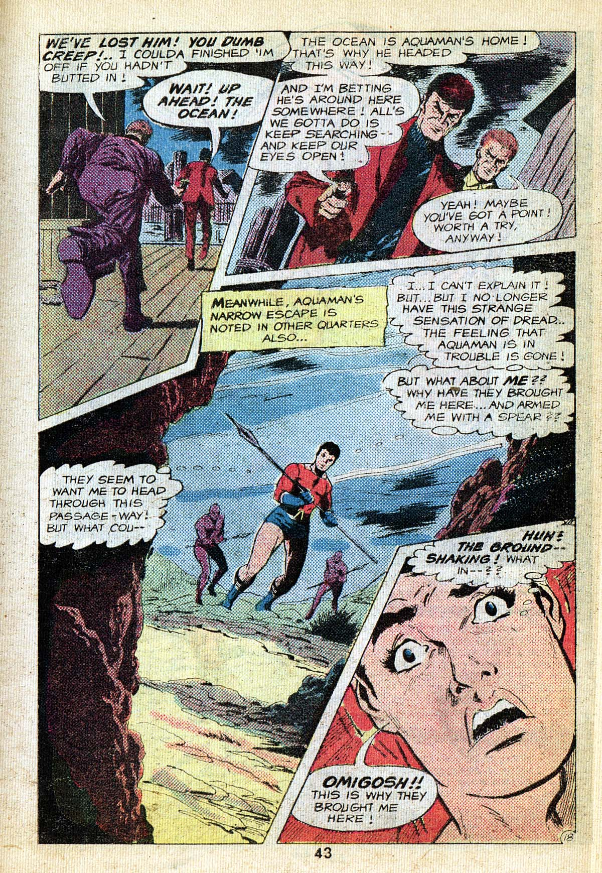 Read online Adventure Comics (1938) comic -  Issue #495 - 43