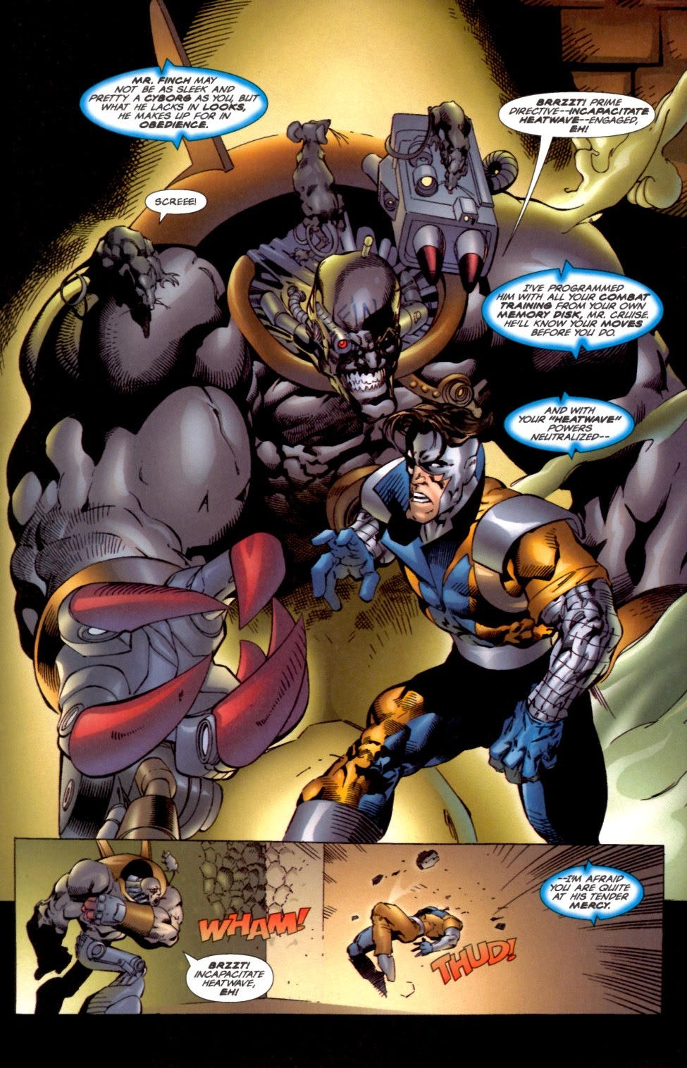 Read online Cyberforce (1993) comic -  Issue # Annual 2 - 23