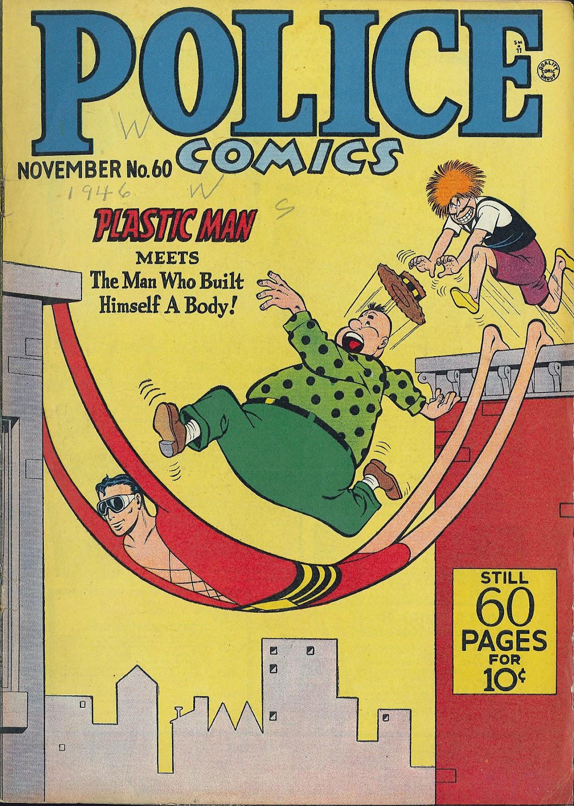 Police Comics 60 Page 1