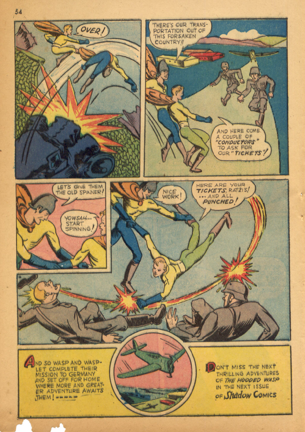 Read online Shadow Comics comic -  Issue #32 - 55