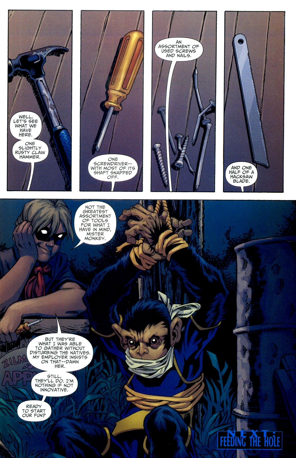 Read online Shadowpact comic -  Issue #2 - 22