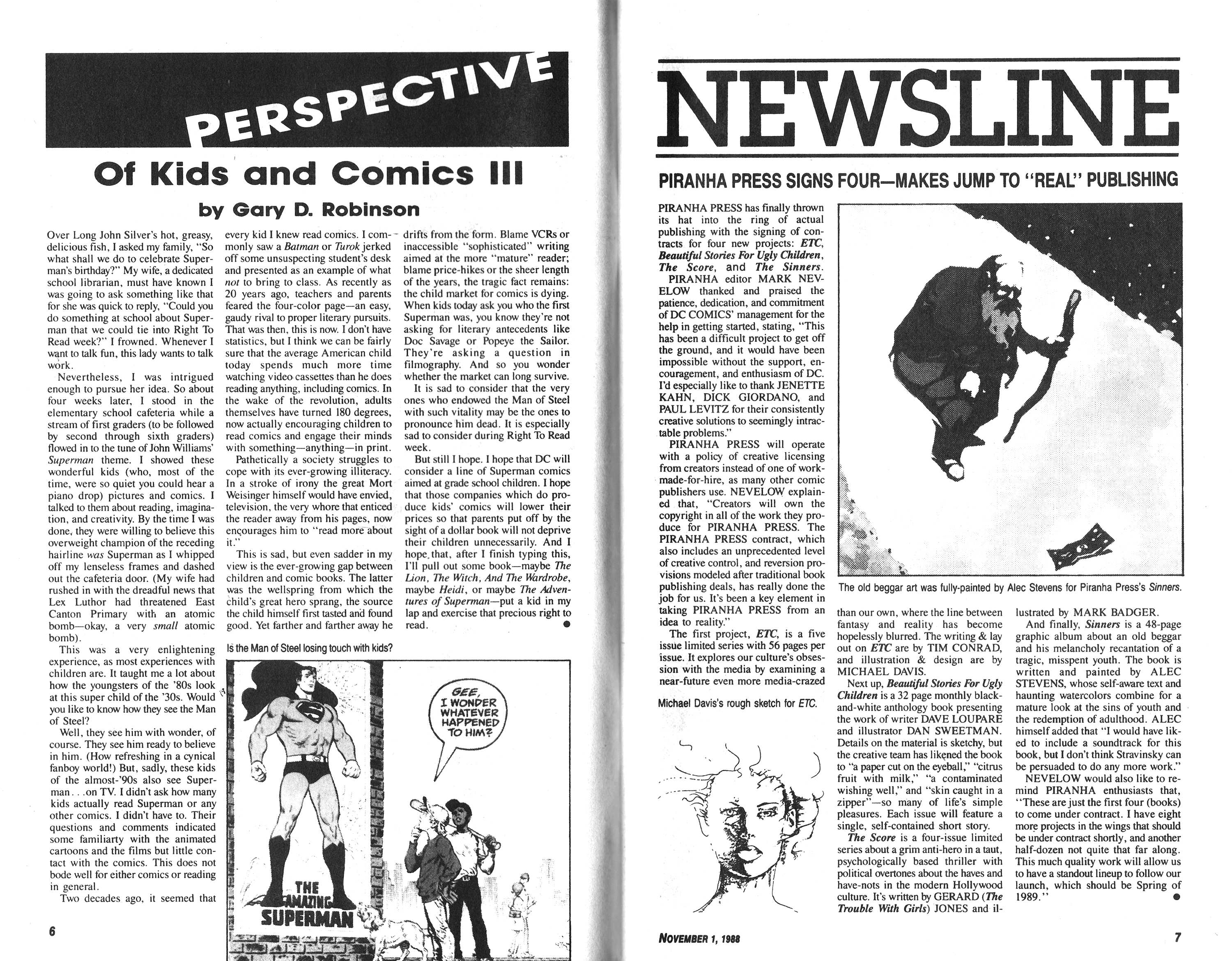Read online Amazing Heroes comic -  Issue #152 - 4
