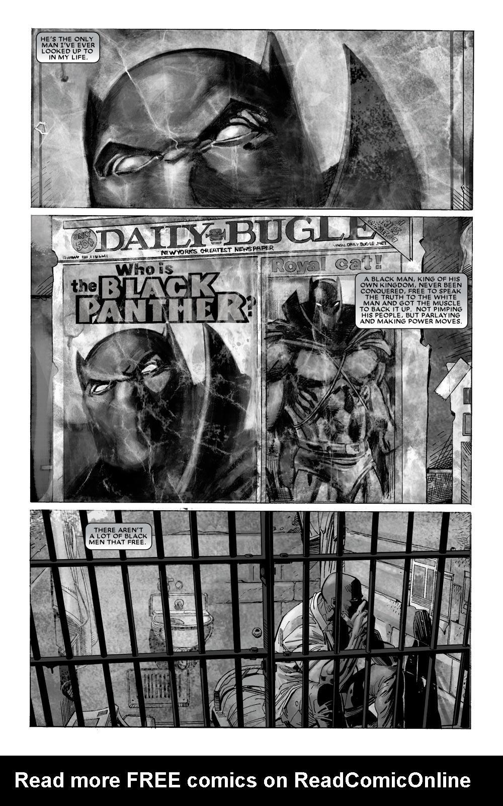 Black Panther (2005) 10 Page 2