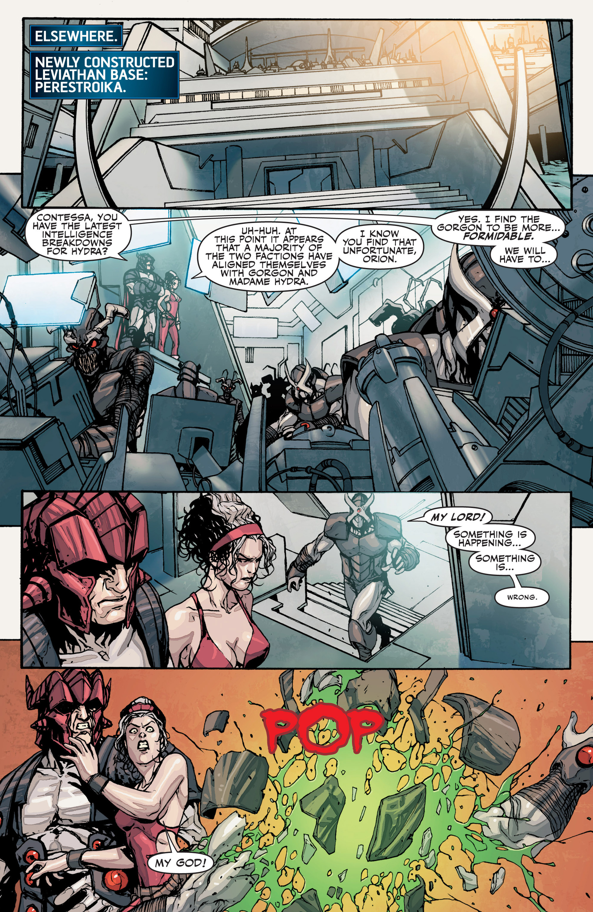 Read online Secret Warriors comic -  Issue #27 - 11