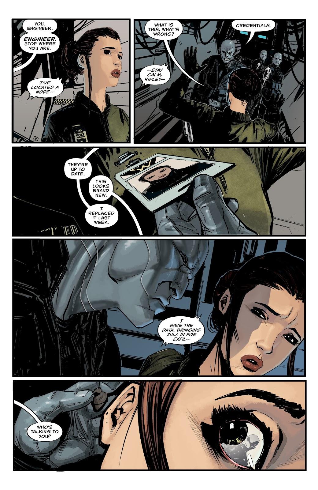 Read online Aliens: Resistance comic -  Issue #1 - 12
