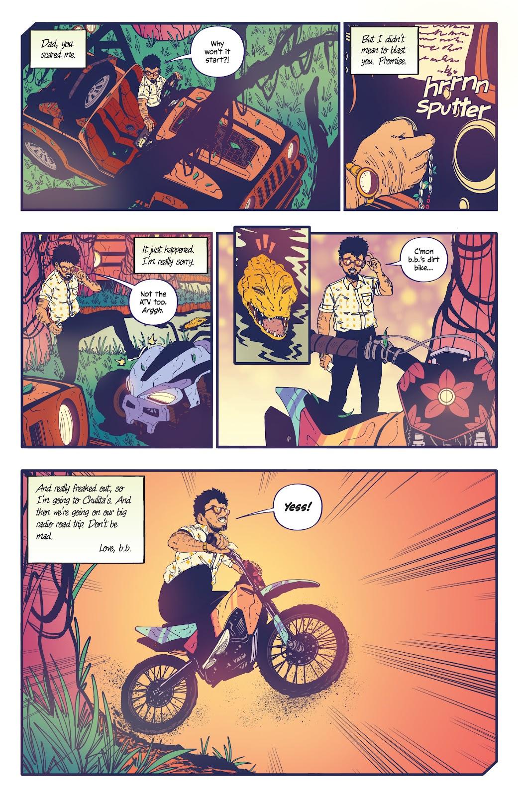 Read online b.b. free comic -  Issue #2 - 21