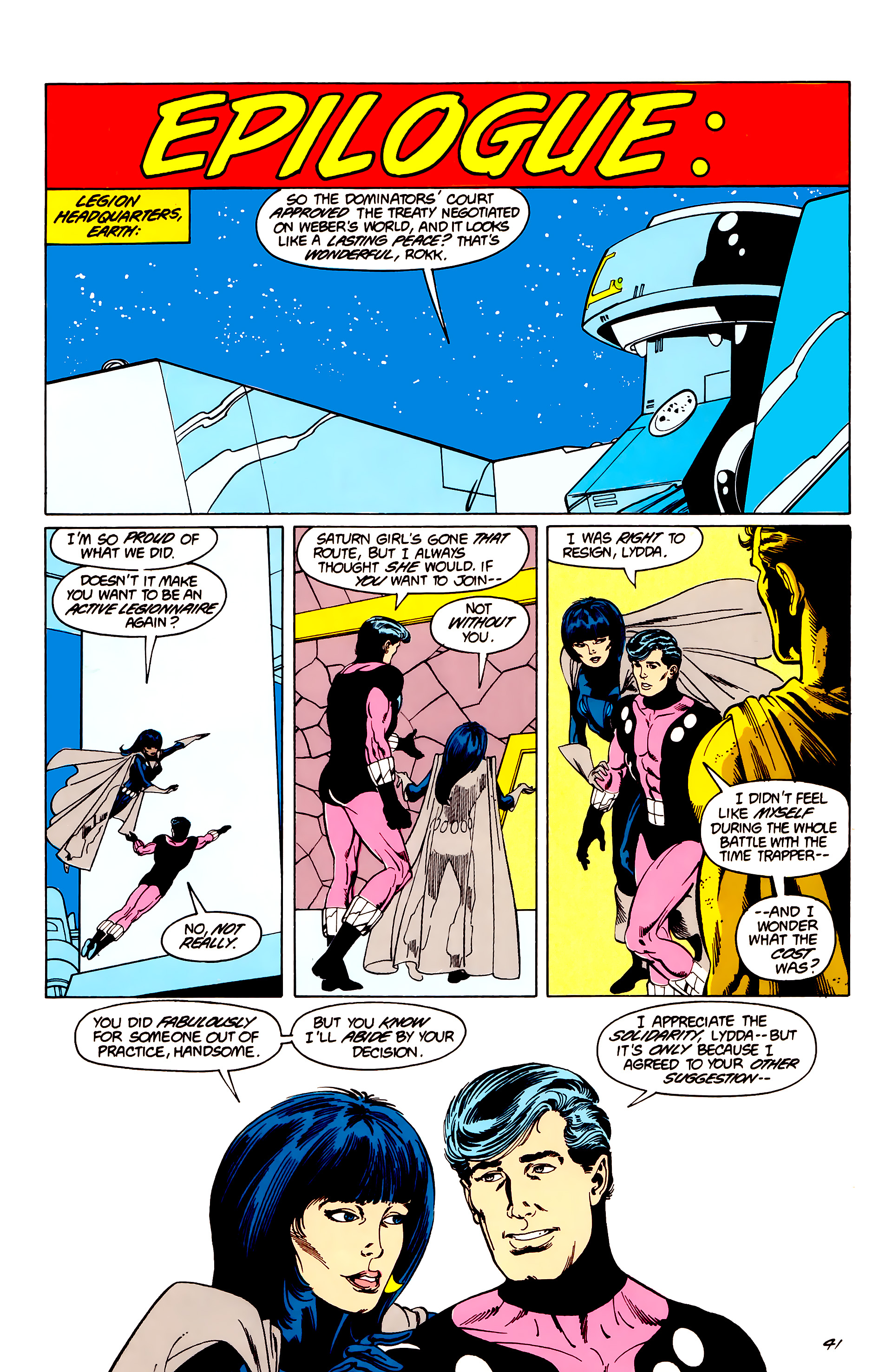Legion of Super-Heroes (1984) _Annual_3 Page 41