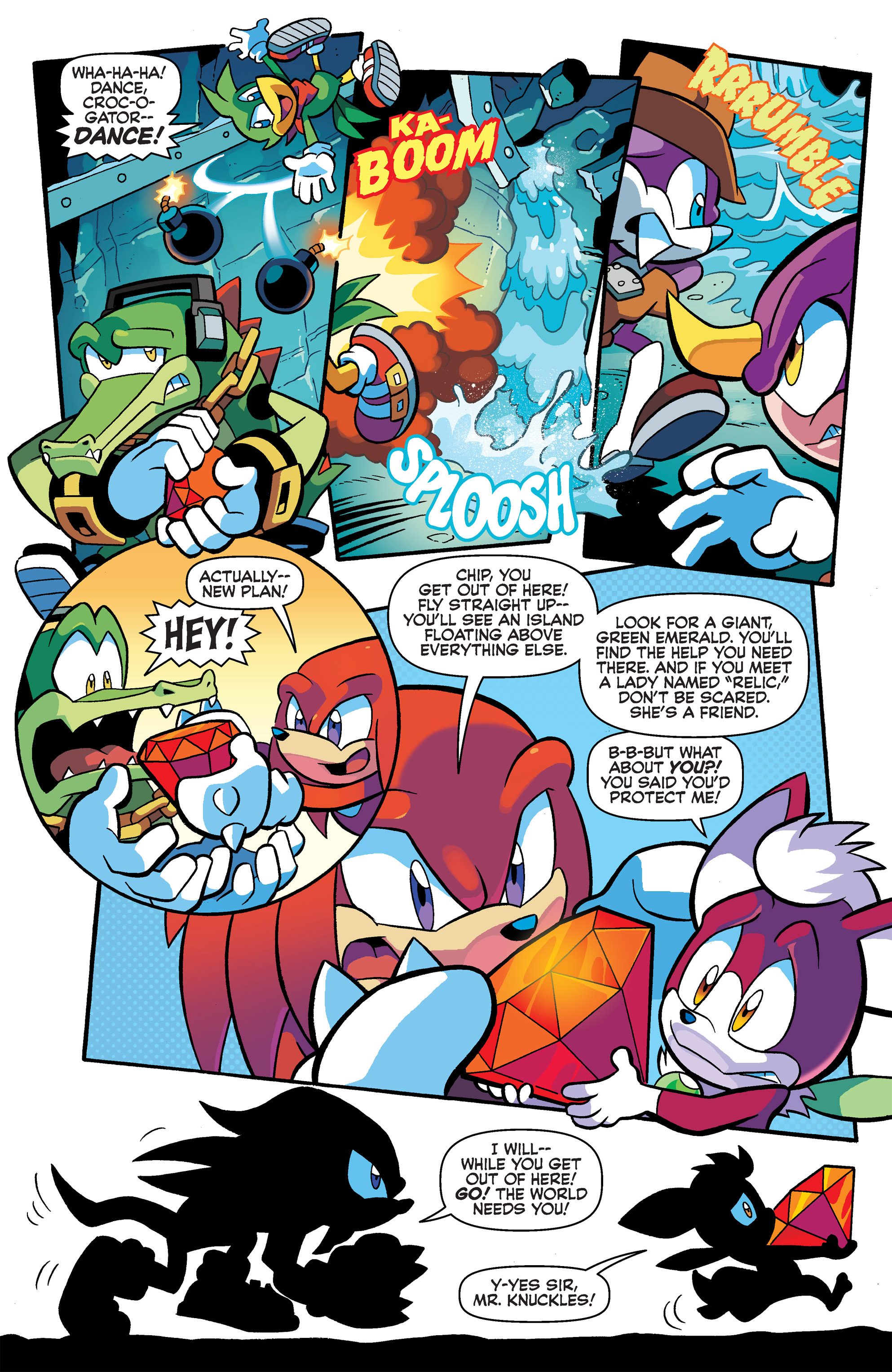 Read online Sonic Universe comic -  Issue #65 - 14