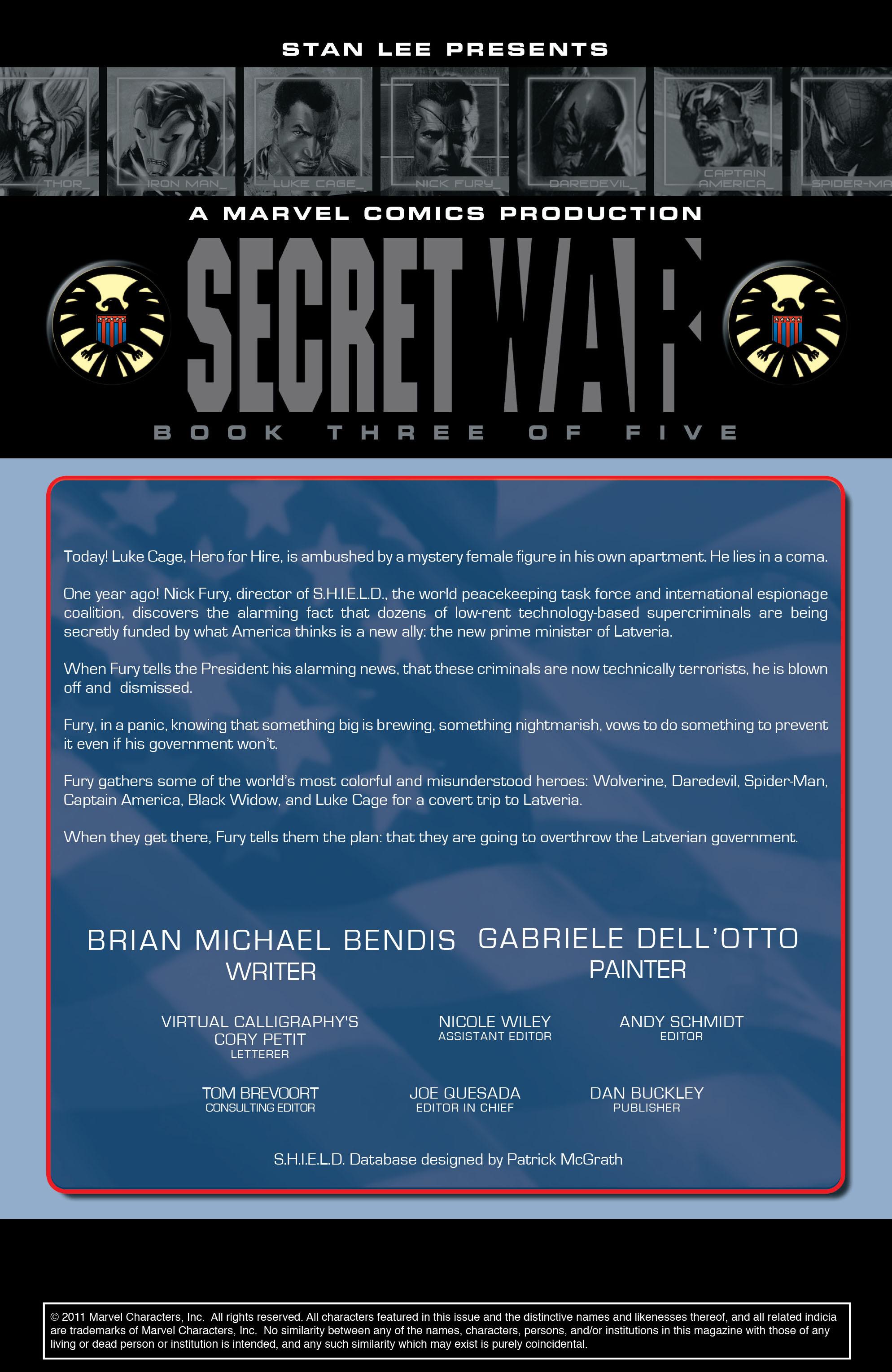 Read online Secret War comic -  Issue # Full - 52