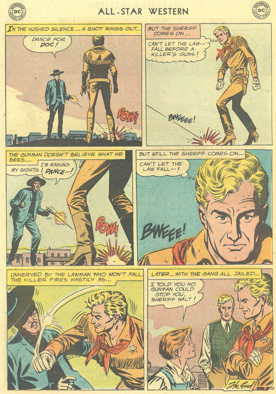 Read online All-Star Western (1951) comic -  Issue #101 - 14