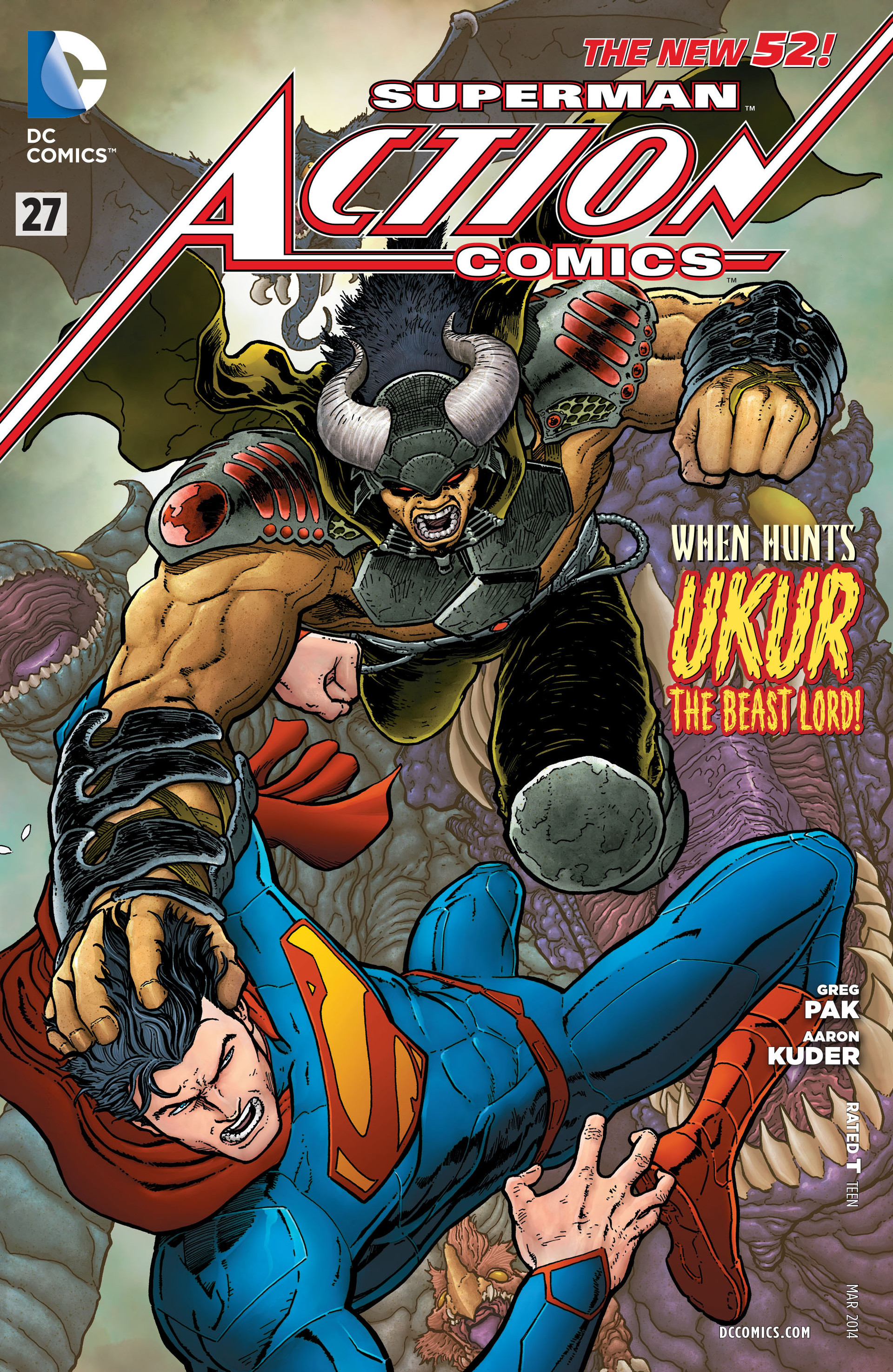 Read online Action Comics (2011) comic -  Issue #27 - 1