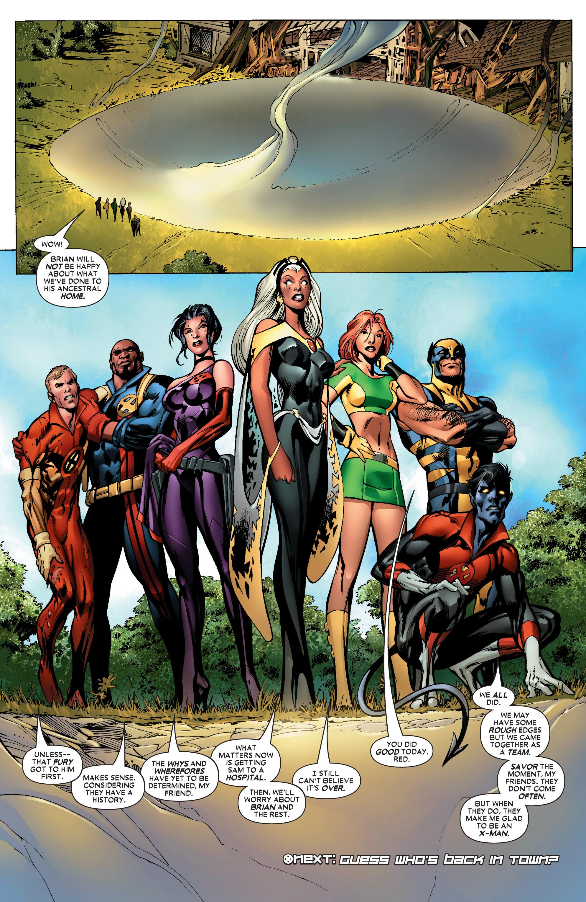 Read online Uncanny X-Men (1963) comic -  Issue #447 - 24