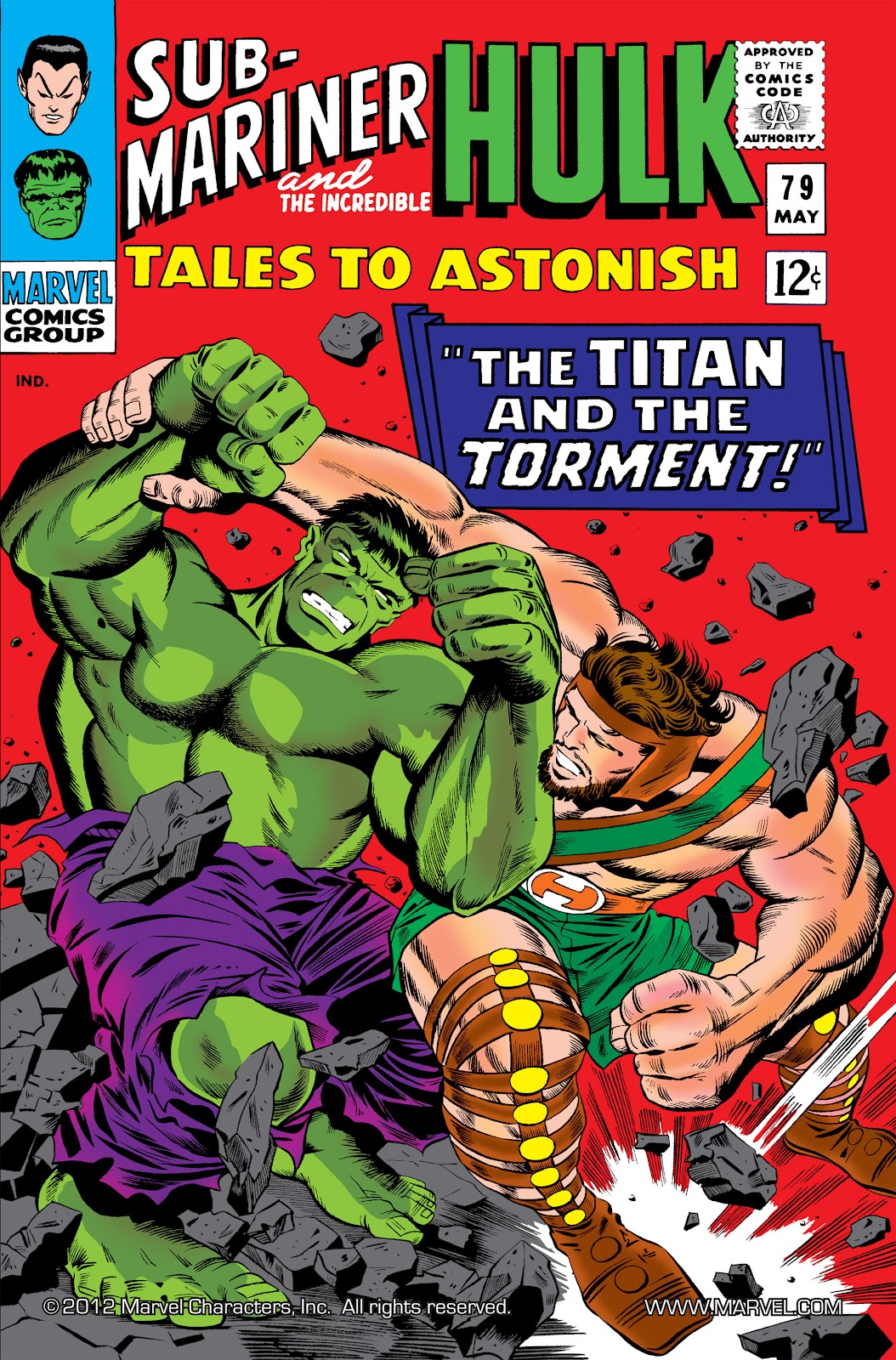 Read online Marvel Masterworks: The Incredible Hulk comic -  Issue # TPB 2 (Part 3) - 33