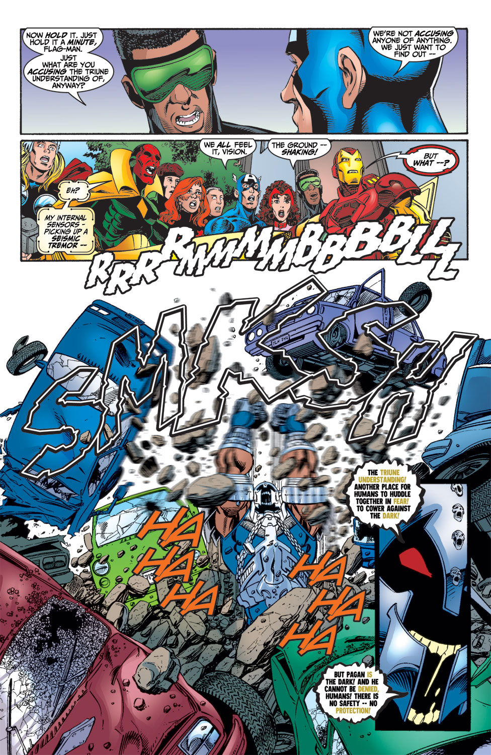 Read online Avengers (1998) comic -  Issue #15 - 11