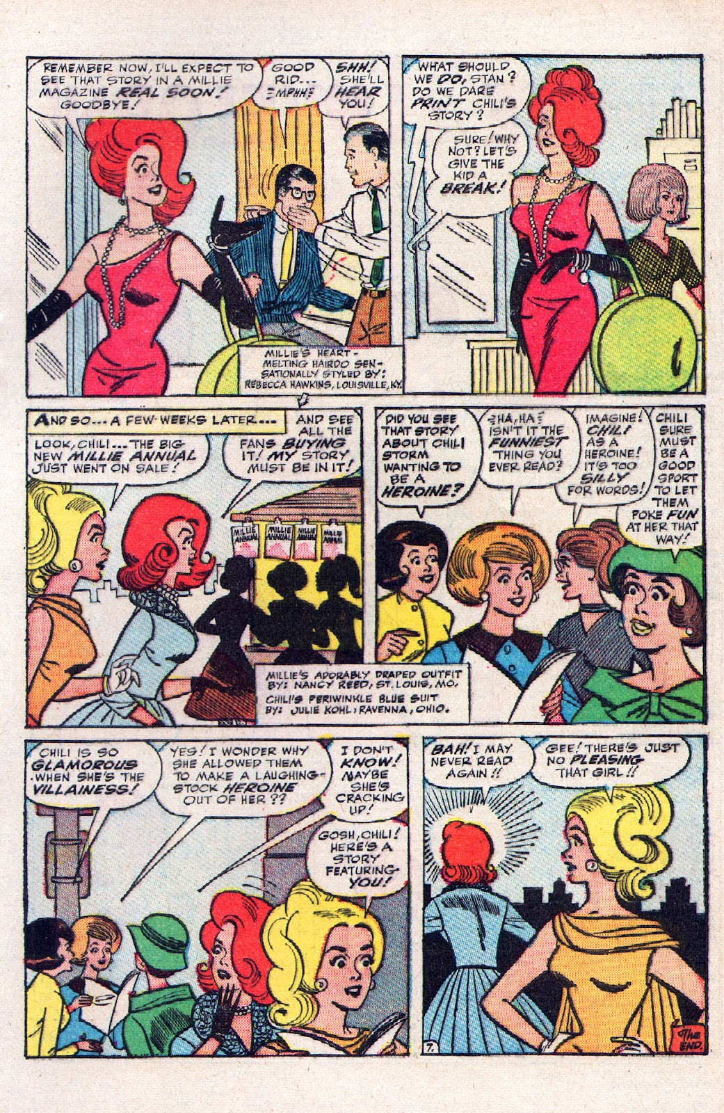 Read online Millie the Model comic -  Issue # Annual 2 - 67