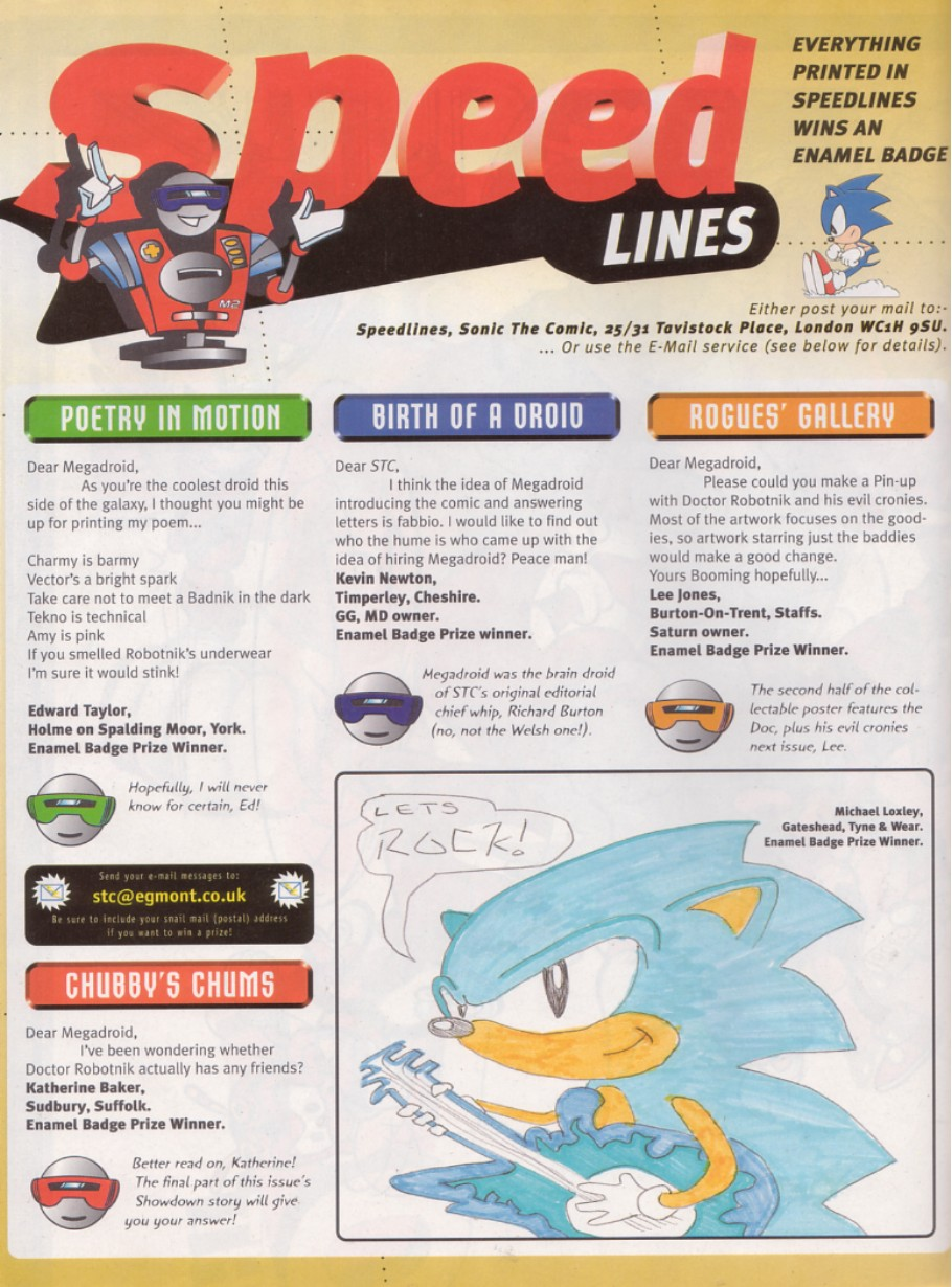 Read online Sonic the Comic comic -  Issue #130 - 15