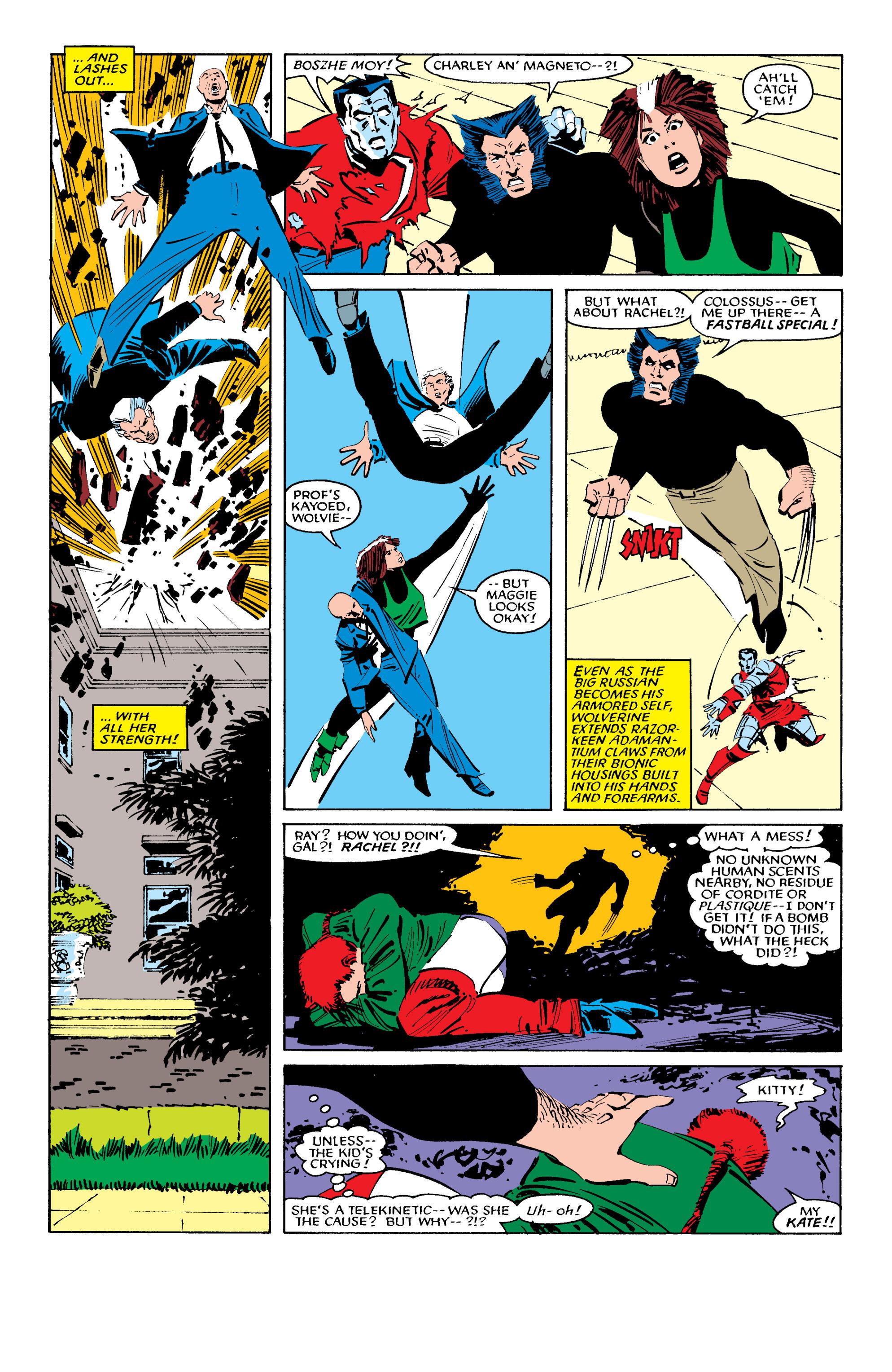 Read online Uncanny X-Men (1963) comic -  Issue #196 - 18