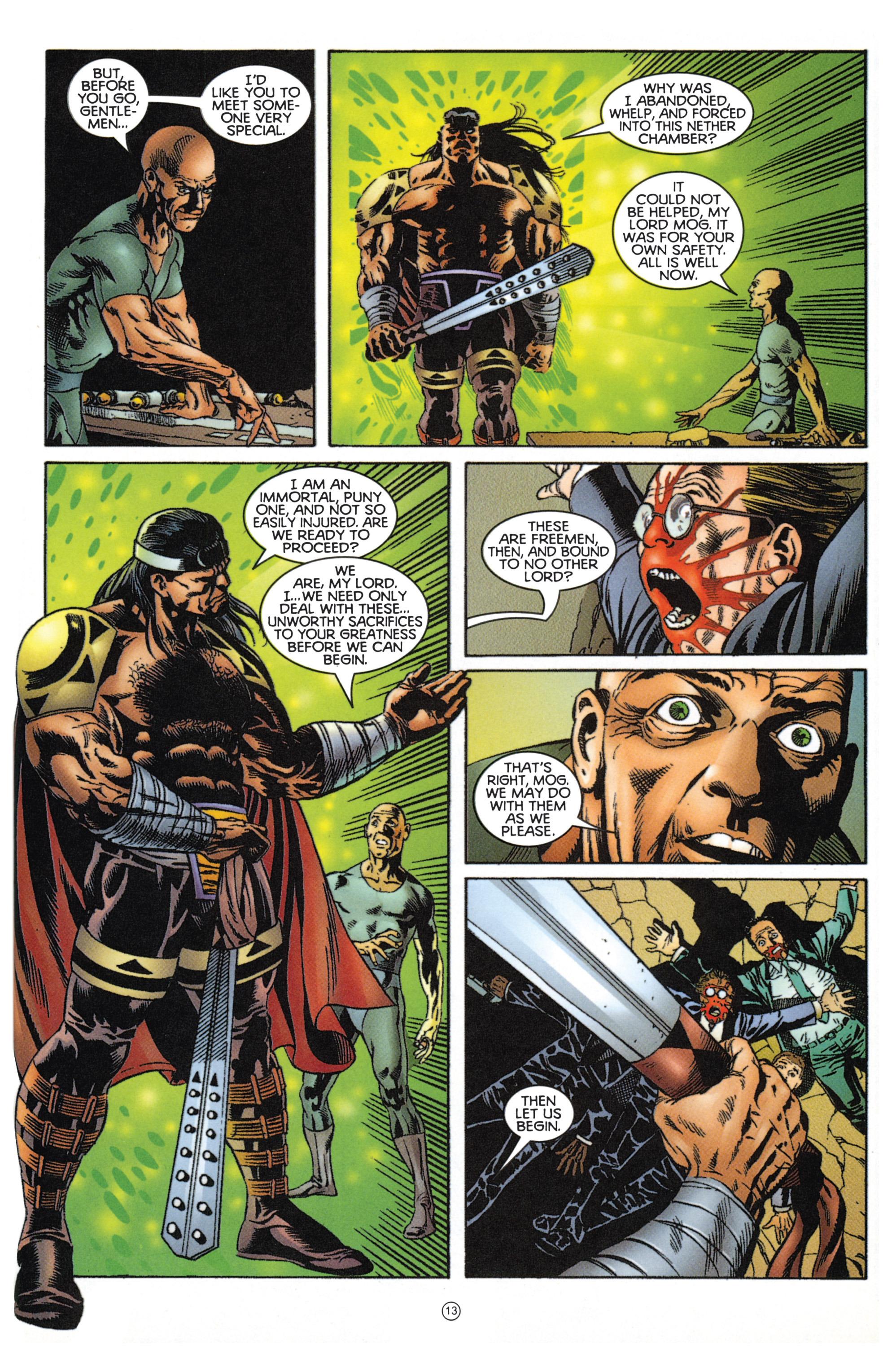 Read online Eternal Warriors comic -  Issue # Issue Mog - 12