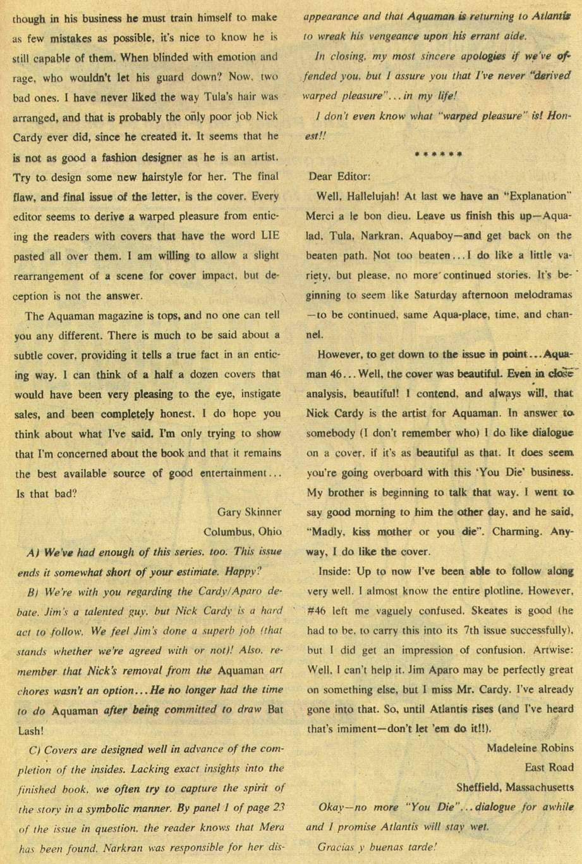 Read online Aquaman (1962) comic -  Issue #48 - 33