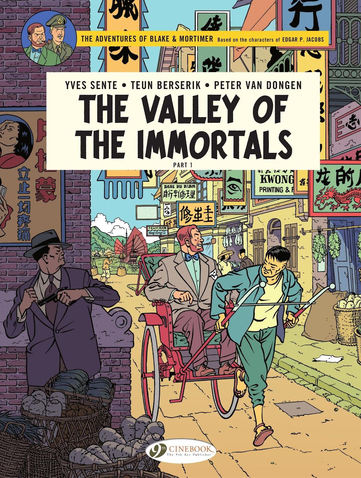 Read online Blake & Mortimer comic -  Issue #25 - 1