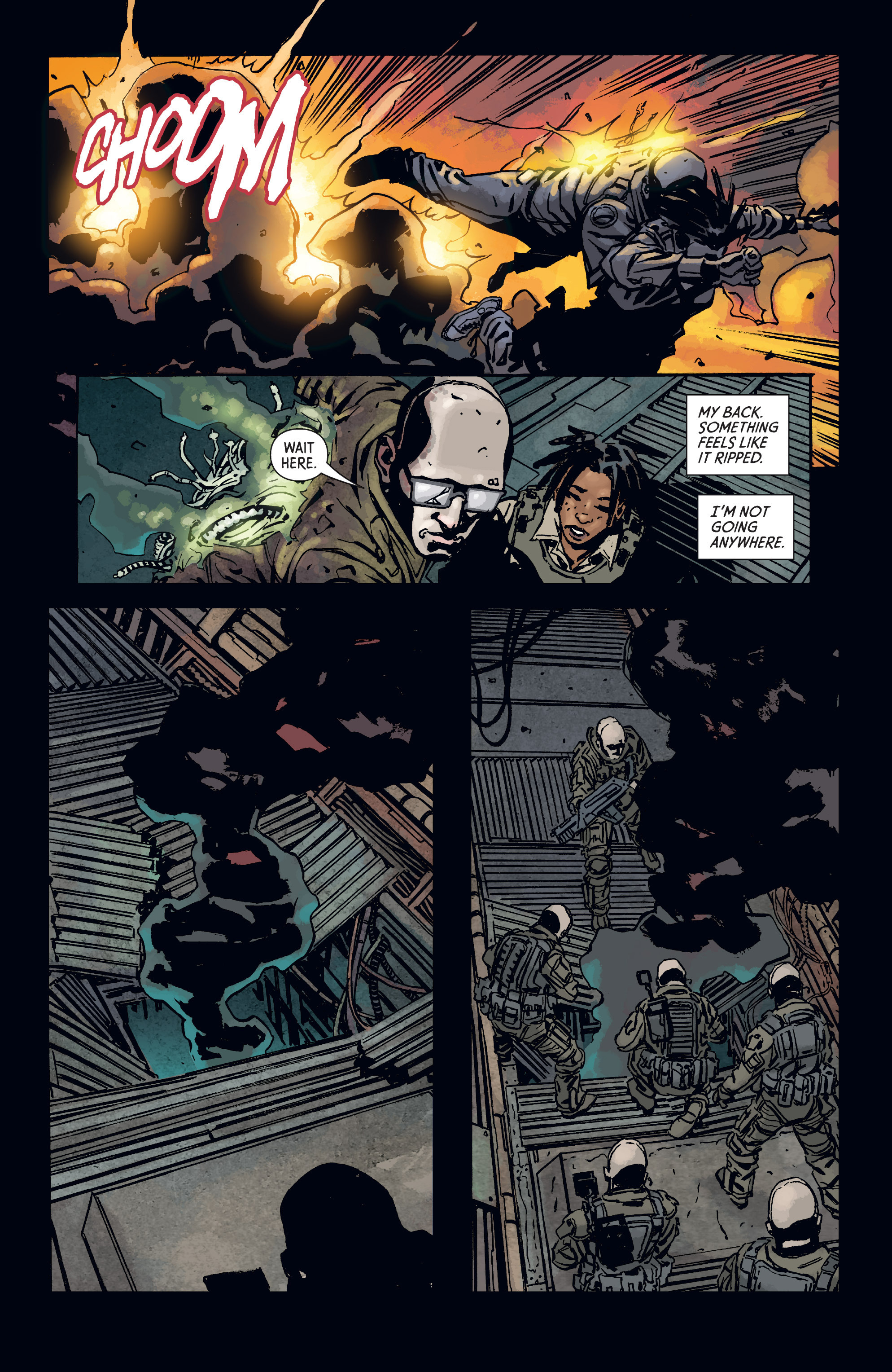 Read online Aliens: Defiance comic -  Issue #3 - 20
