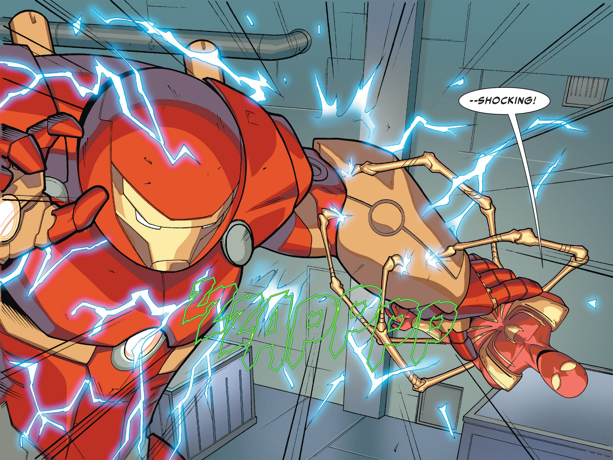 Read online Ultimate Spider-Man (Infinite Comics) (2016) comic -  Issue #5 - 8