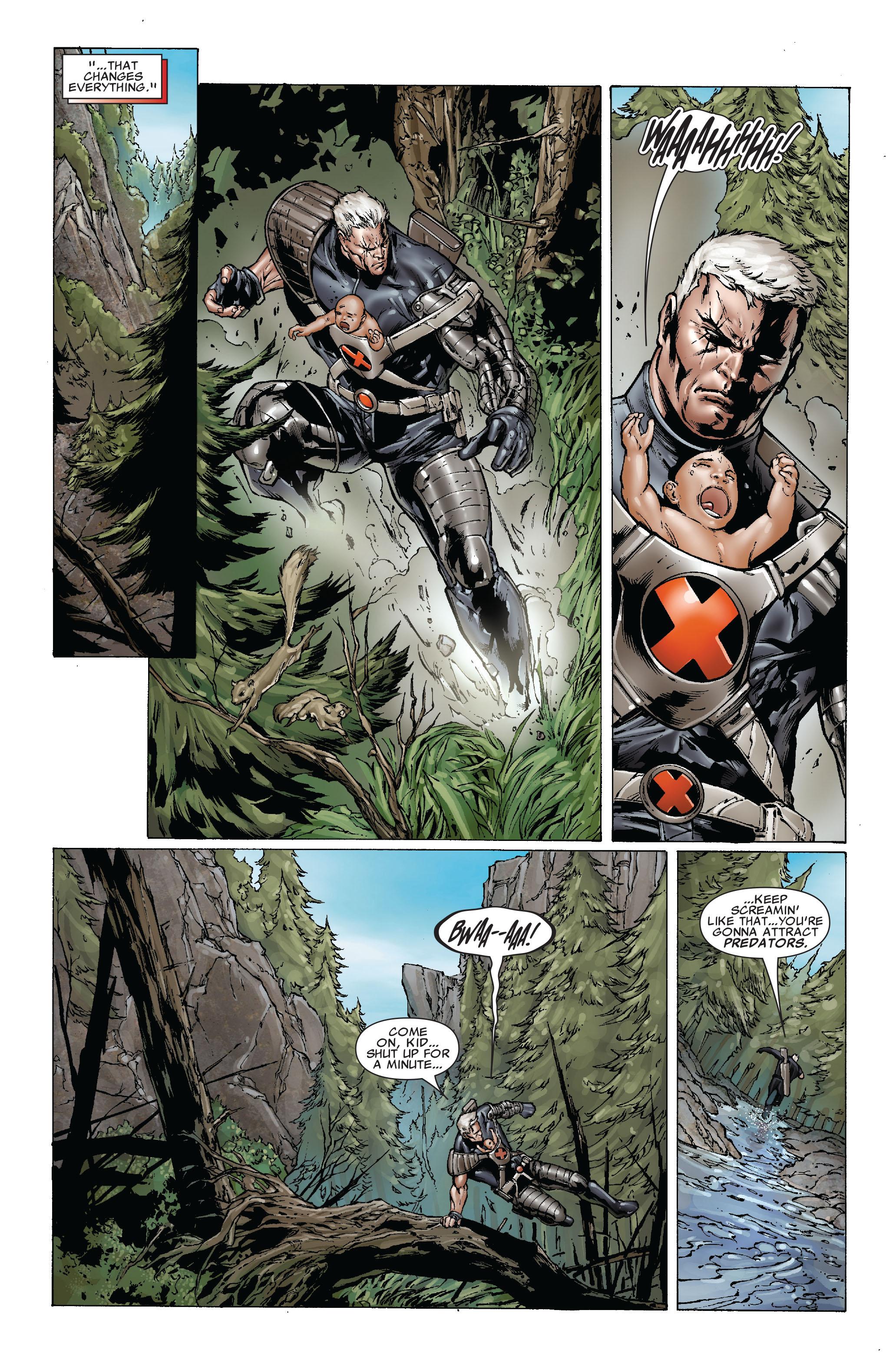 Read online Uncanny X-Men (1963) comic -  Issue #493 - 11